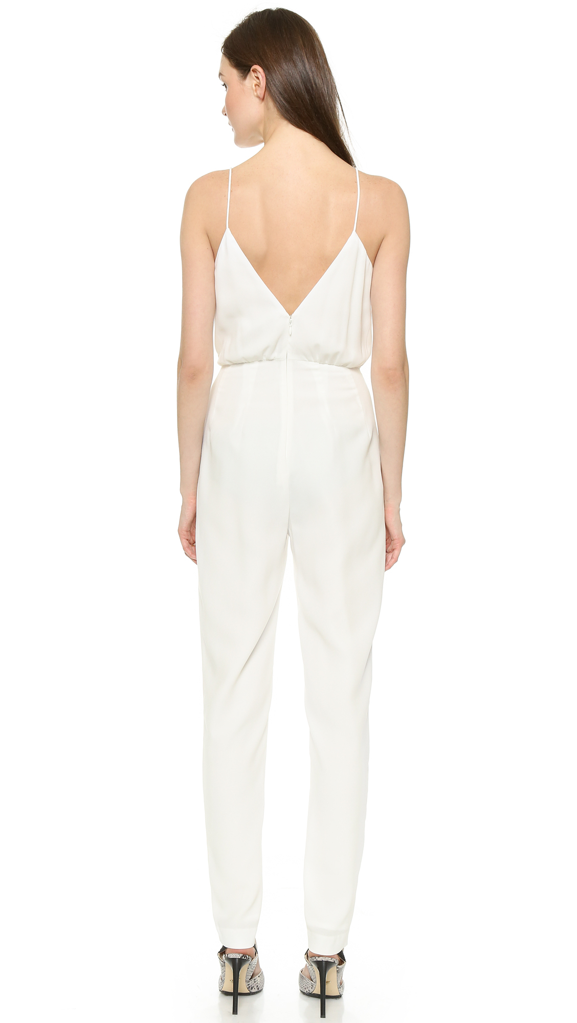 86b79febf82f Lyst - Finders Keepers The Someday Jumpsuit in White
