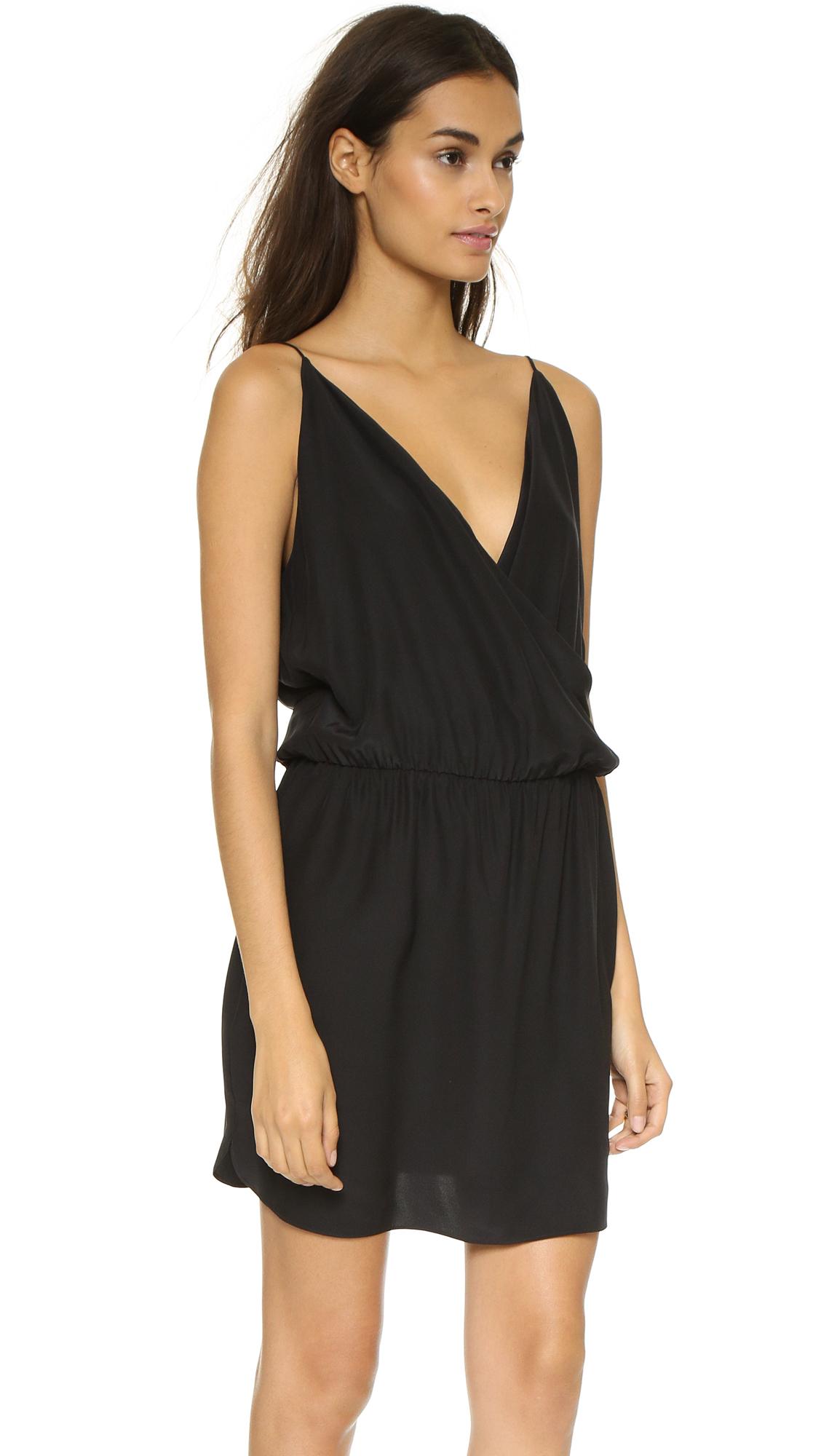 Lyst Amanda Uprichard Lindsay Dress In Black
