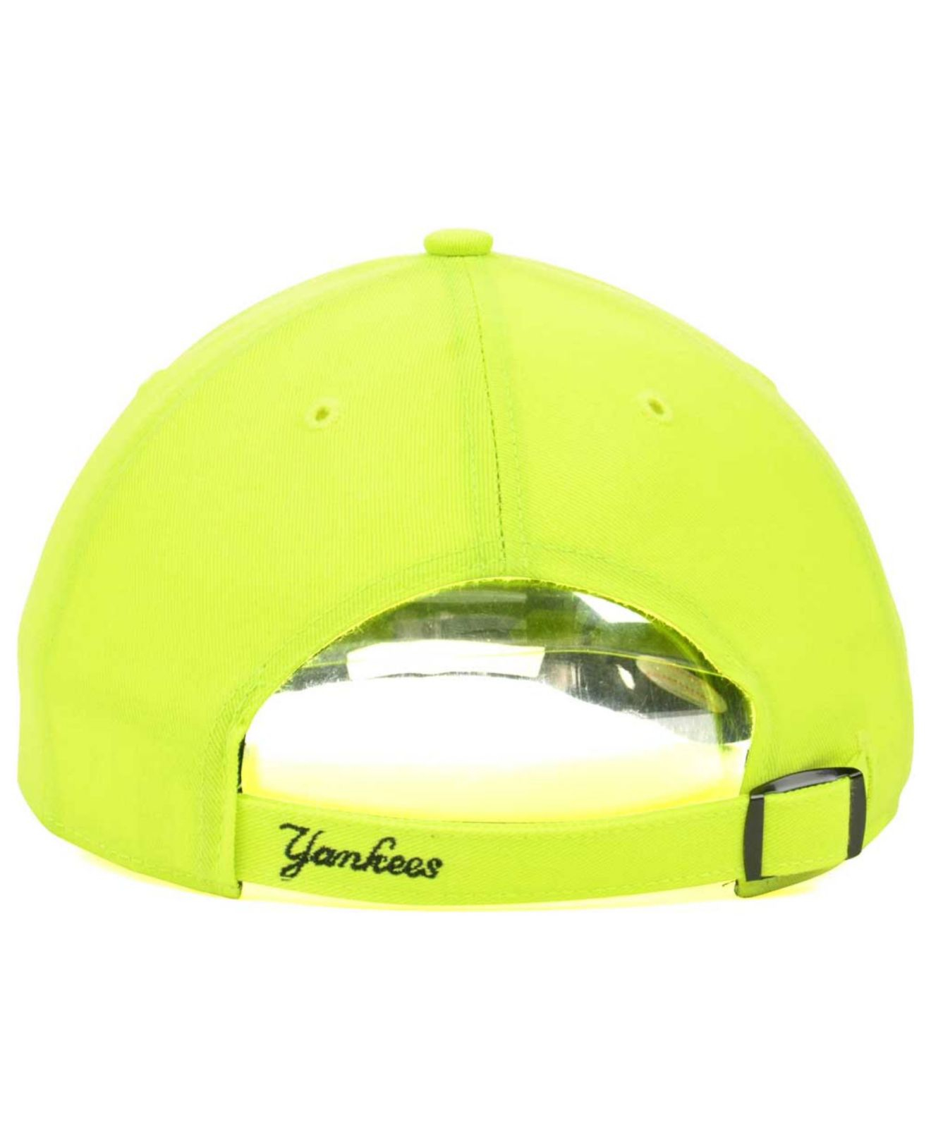 cfd3bb021 47 Brand Women'S New York Yankees Neon Clean Up Cap in Yellow - Lyst