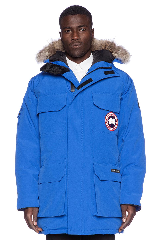 Canada Goose coats replica fake - Canada goose Expedition Down Parka in Blue for Men (Royal Pbi Blue ...