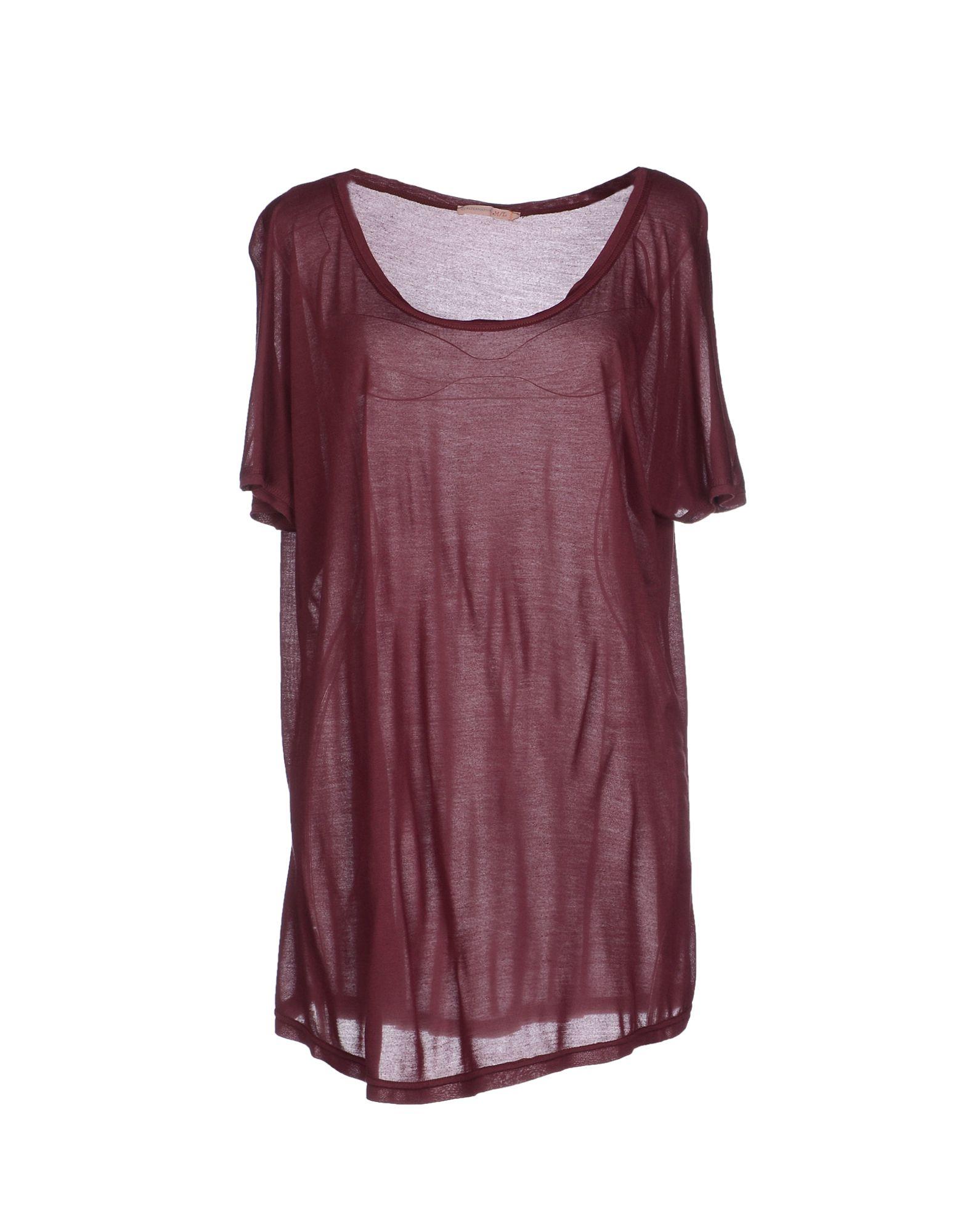 alternative apparel t shirt in purple lyst