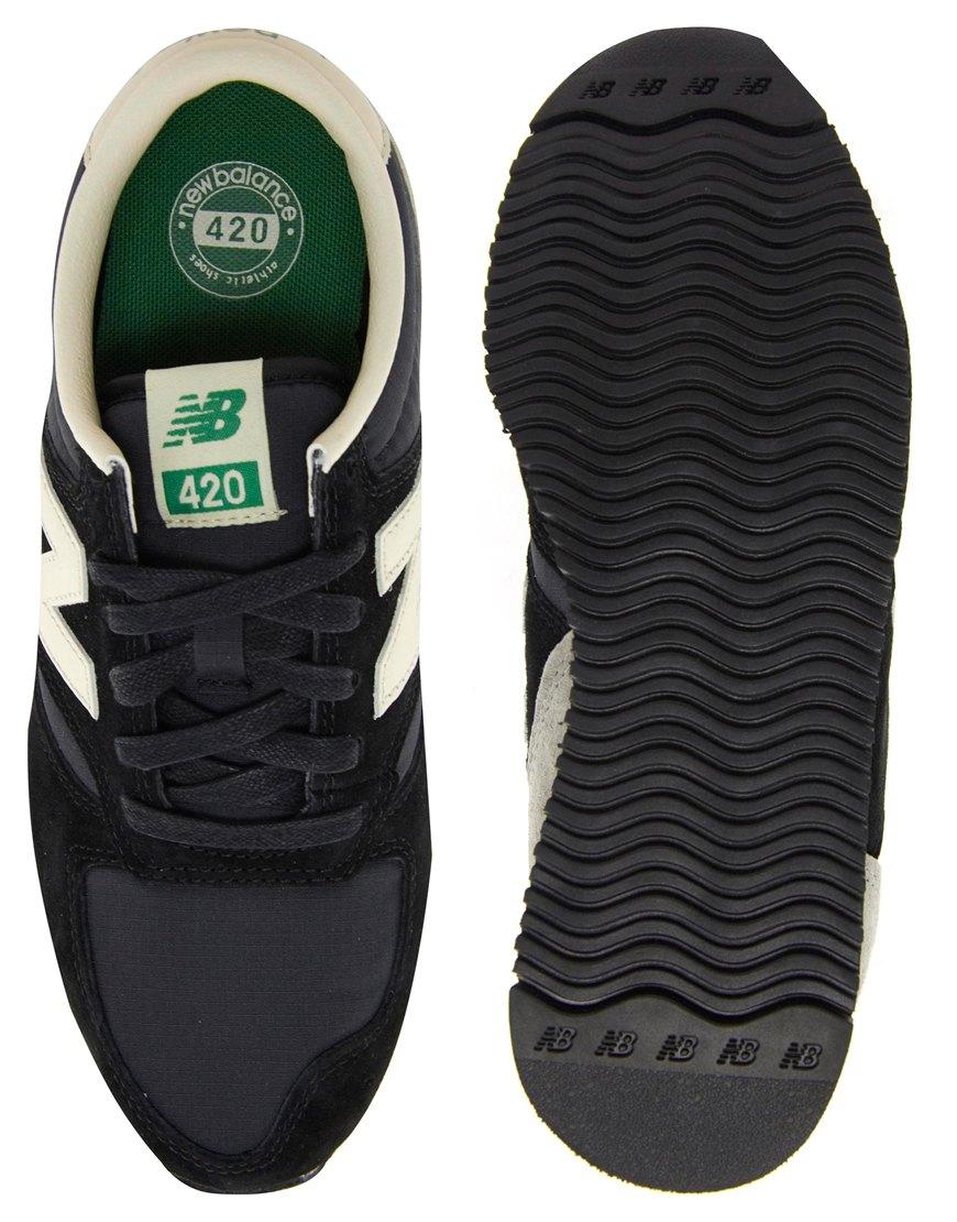 nike new balance 420 black