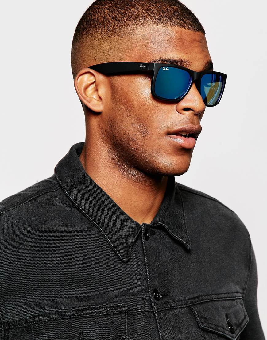 ray ban sonnenbrille justin rb4165