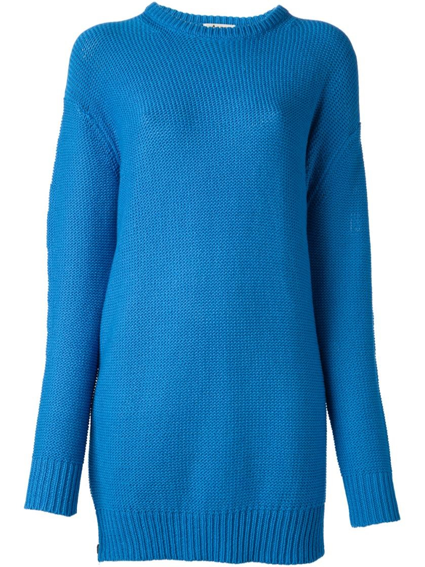 acne studios sweater in blue lyst. Black Bedroom Furniture Sets. Home Design Ideas
