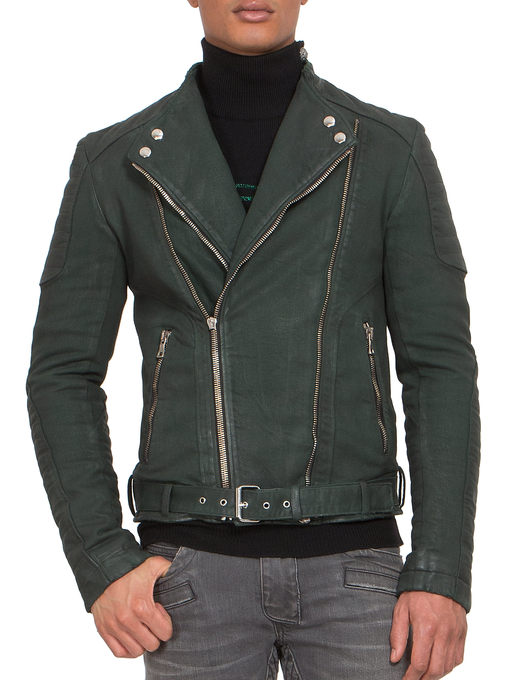 Order quality men's riding apparel, from leather motorcycle jackets & lightweight leather shirts, to insulated riding chaps, from our expansive selection. We have the largest selection of biker denim vests in a variety of styles & sizes available in big sizes up to 12XL so every biker can find a vest that fits!