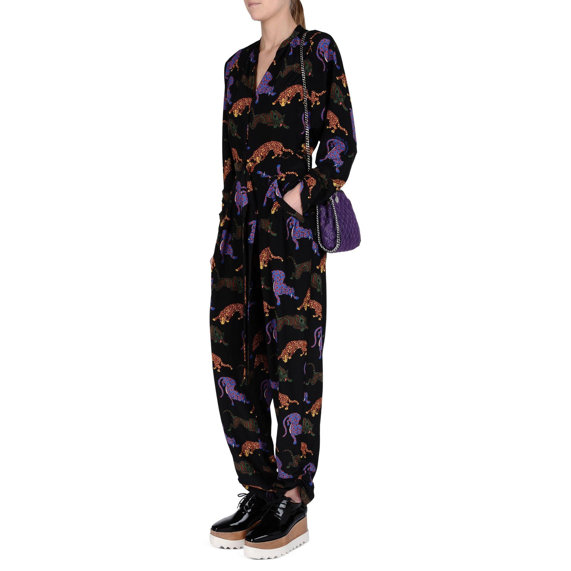 Lyst Stella Mccartney Bright Purple Falabella Quilted