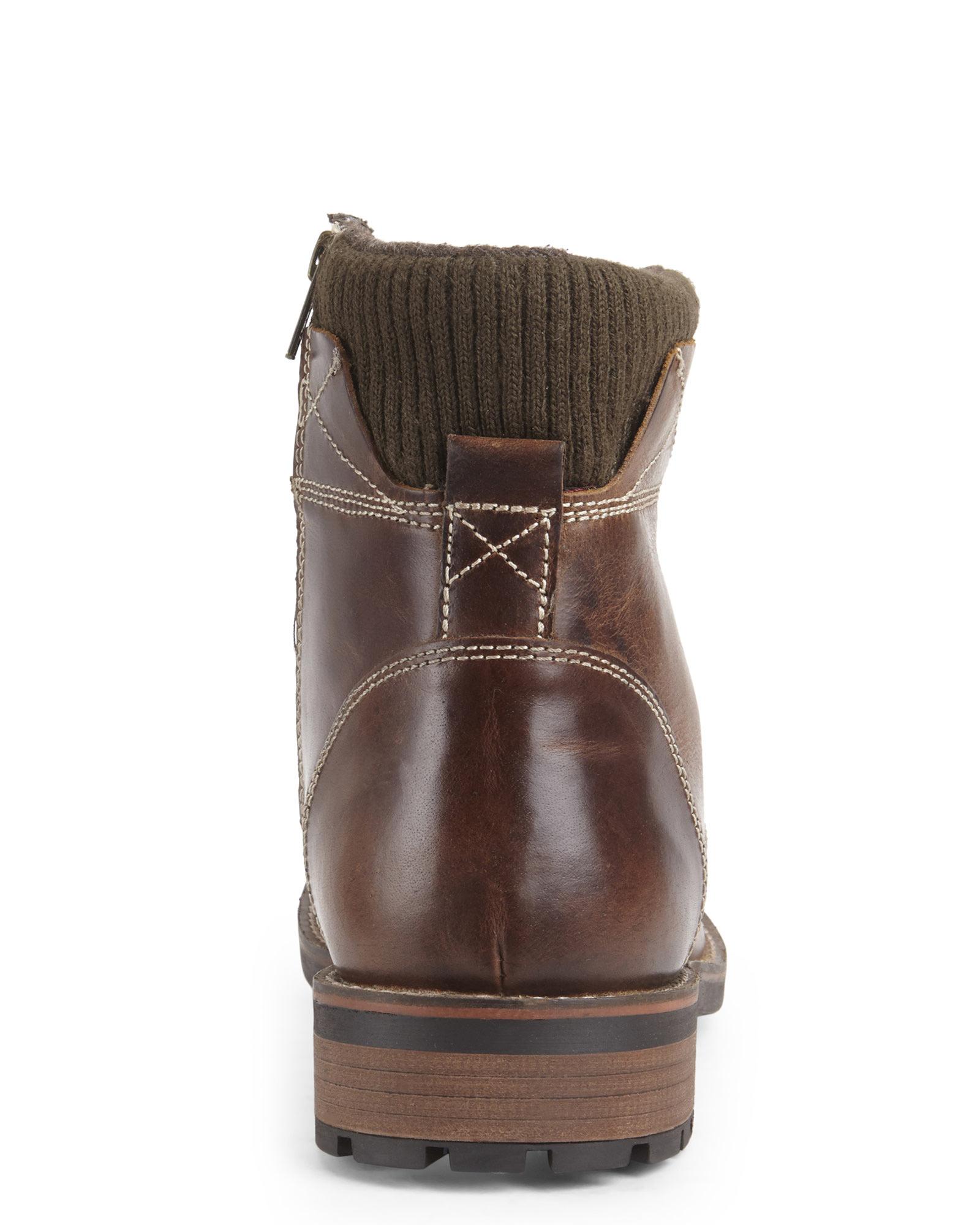 steve madden brown shredder desert boots in brown for