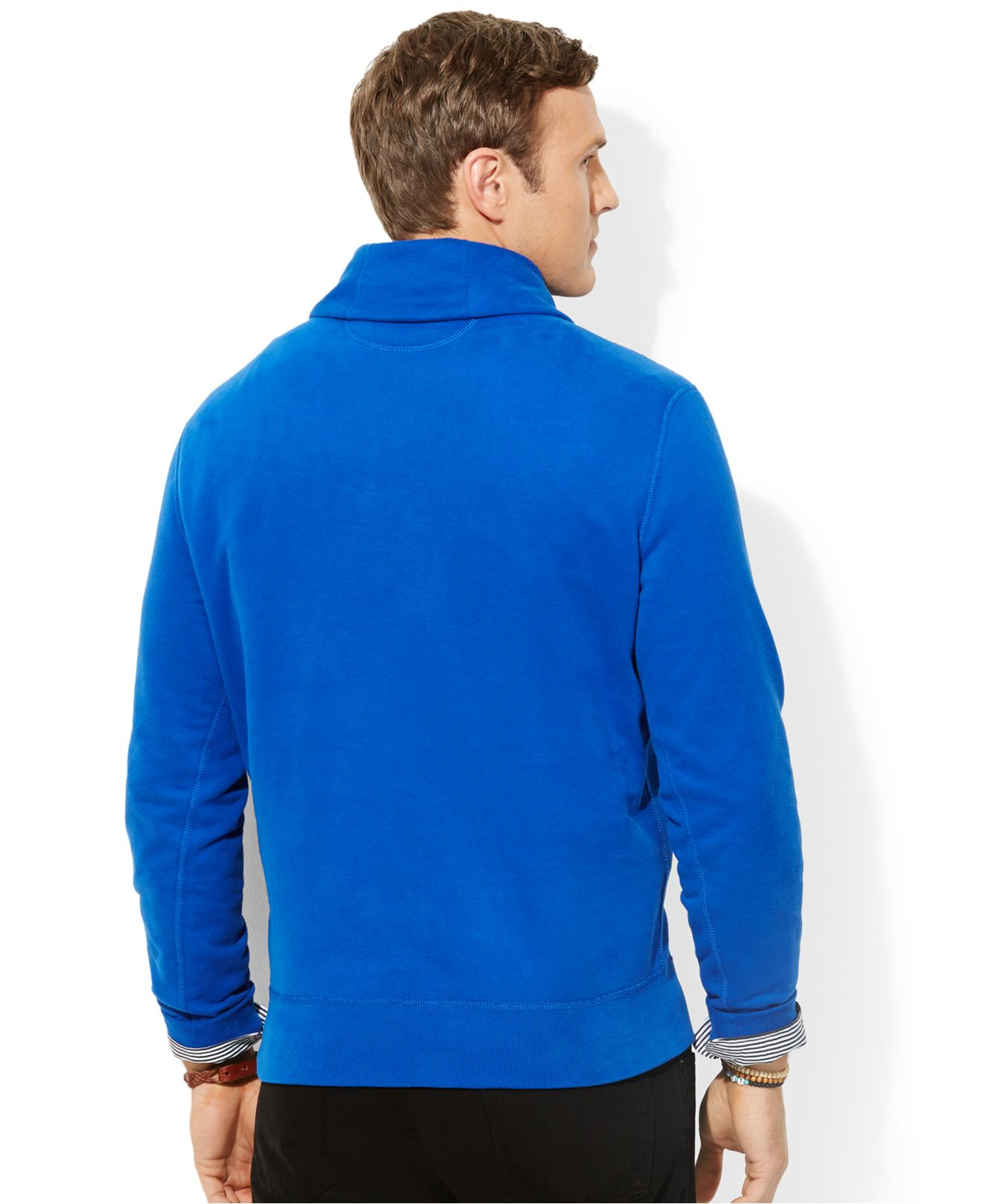 Lyst Polo Ralph Lauren Big And Tall Pima Fleece Shawl