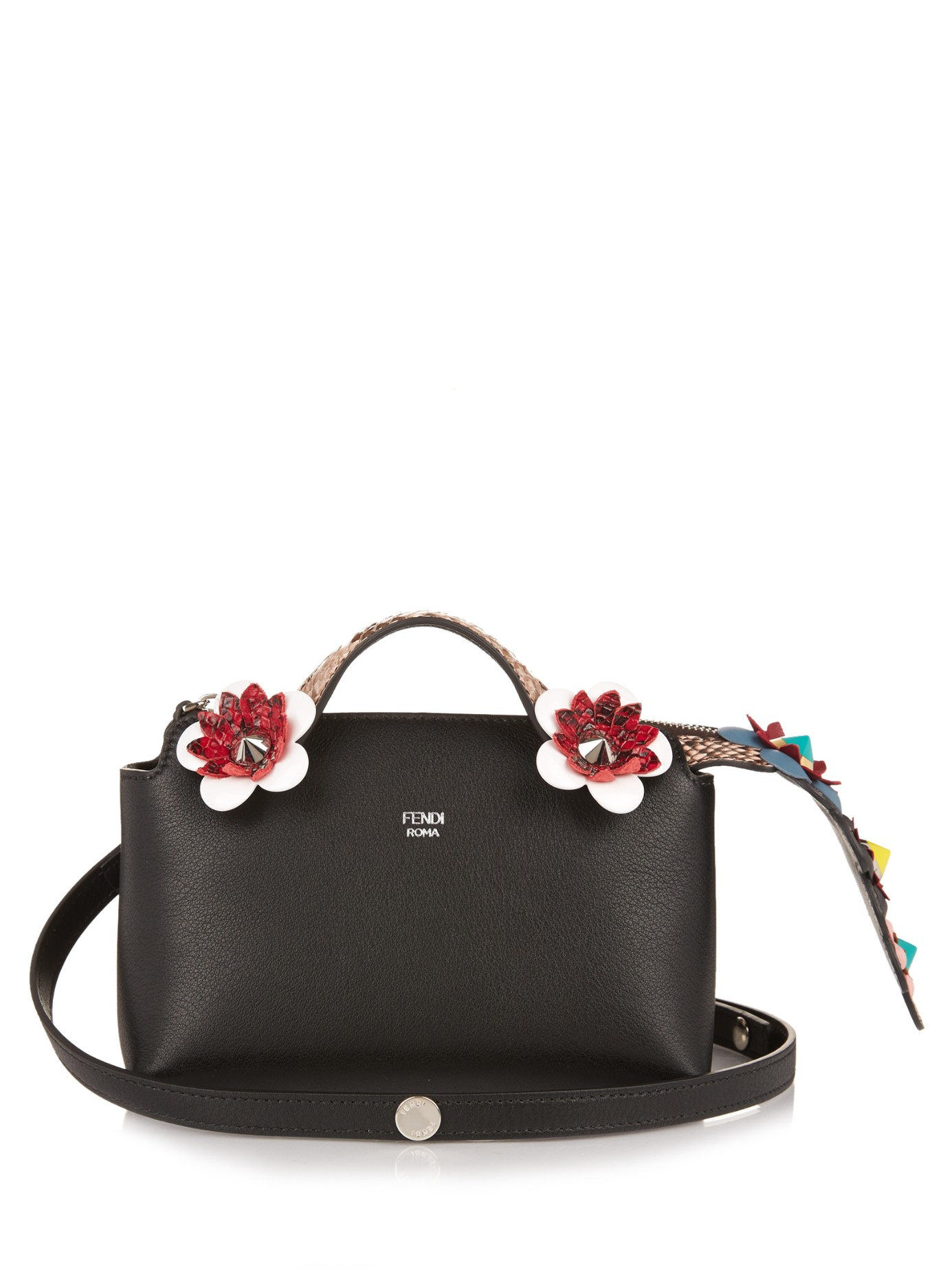 Lyst - Fendi Women s By The Way Mini-satchel in Black 8ccb012011b42