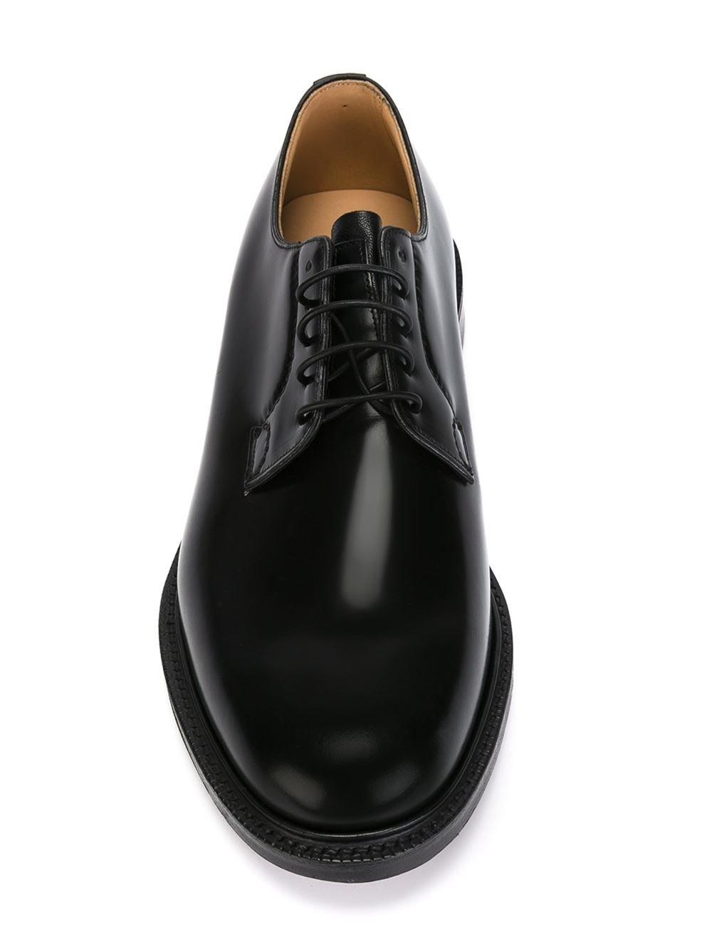 Black Derby Shoes Sale