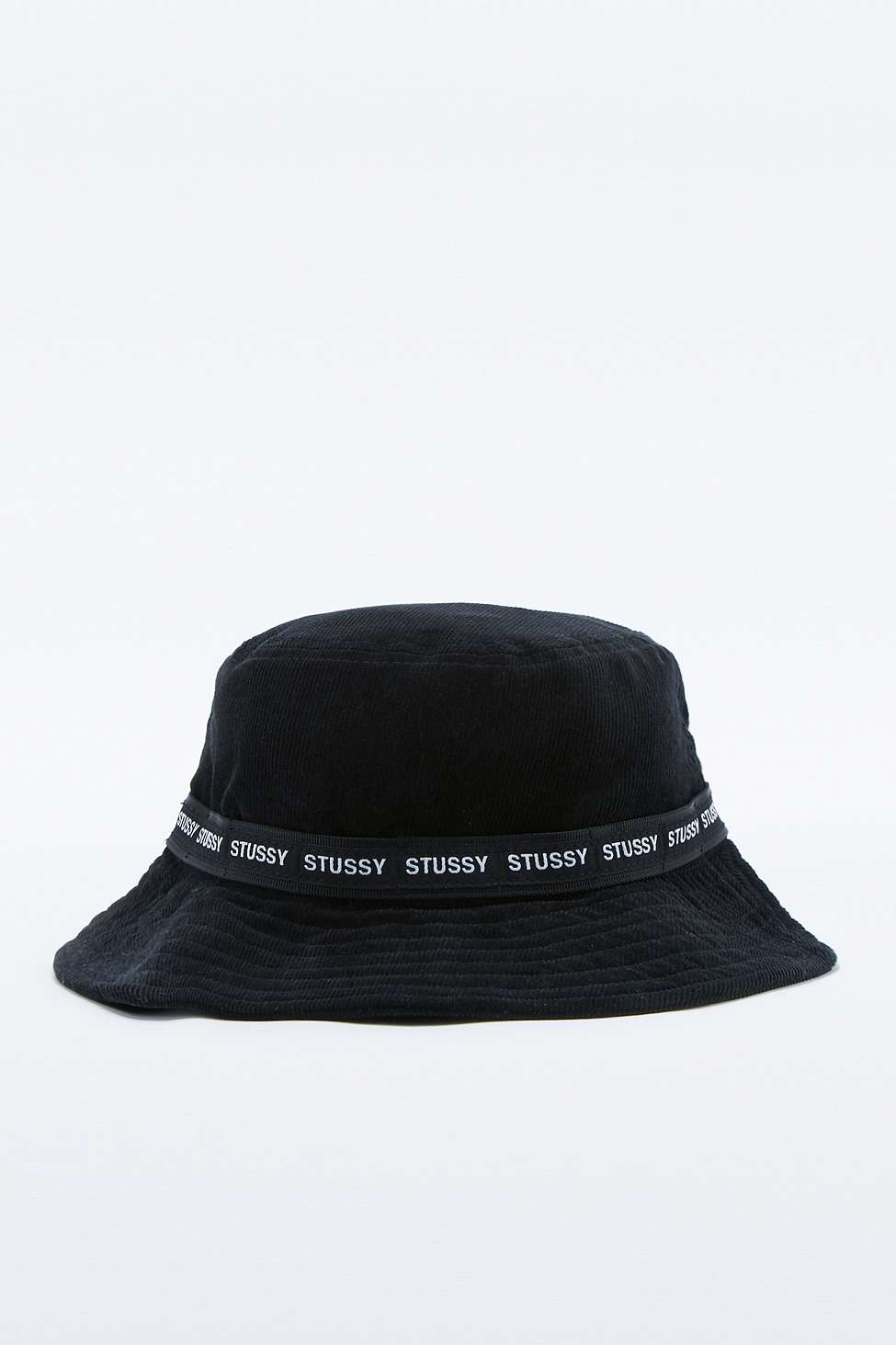 Stussy Black Corduroy Bucket Hat in Black for Men - Lyst a21bae47fb7f