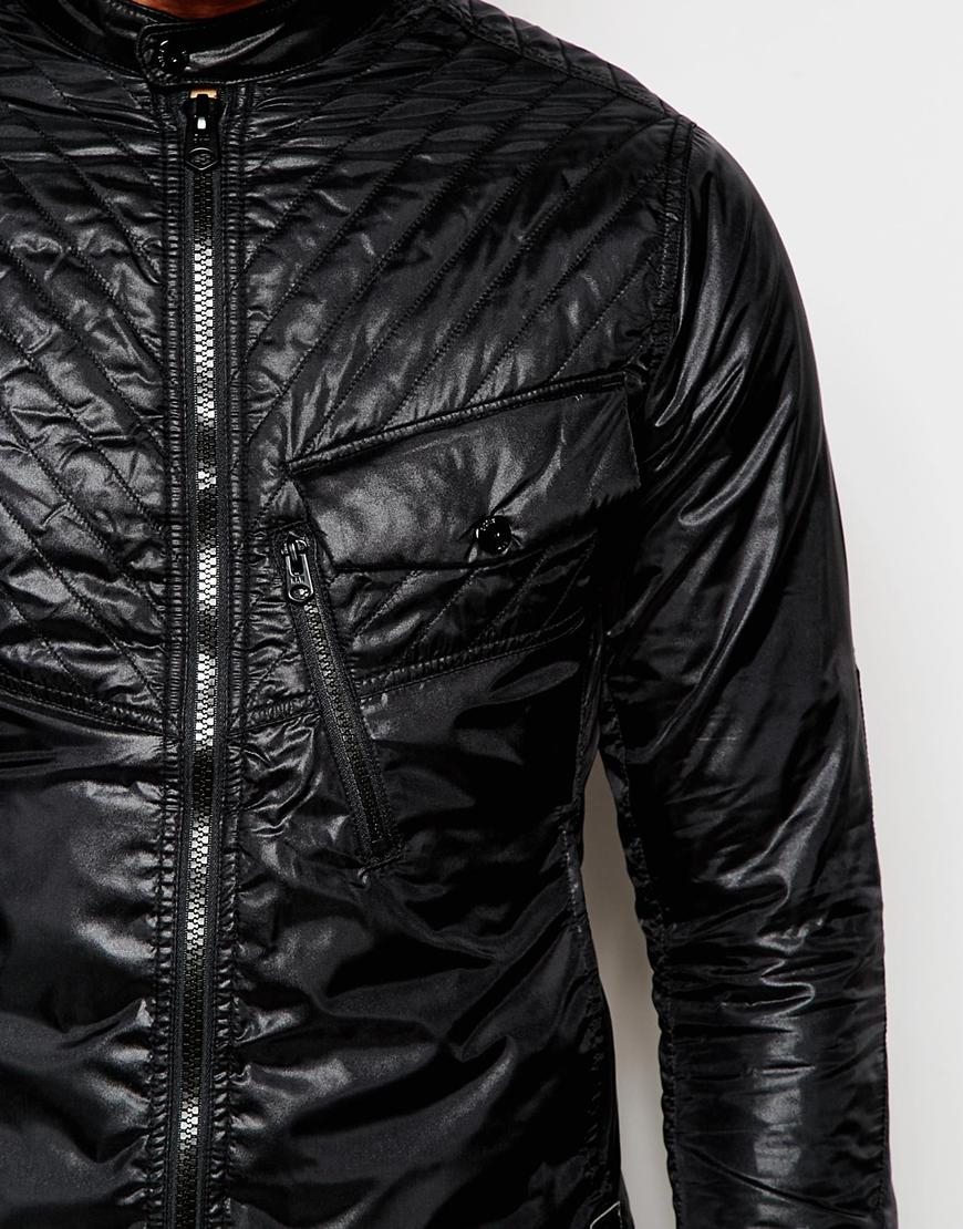 606e8525ff6e G-Star RAW Quilted Overshirt Jacket Exclusive To Asos 5620 Elwood Slim Fit  Nylon in Black for Men - Lyst