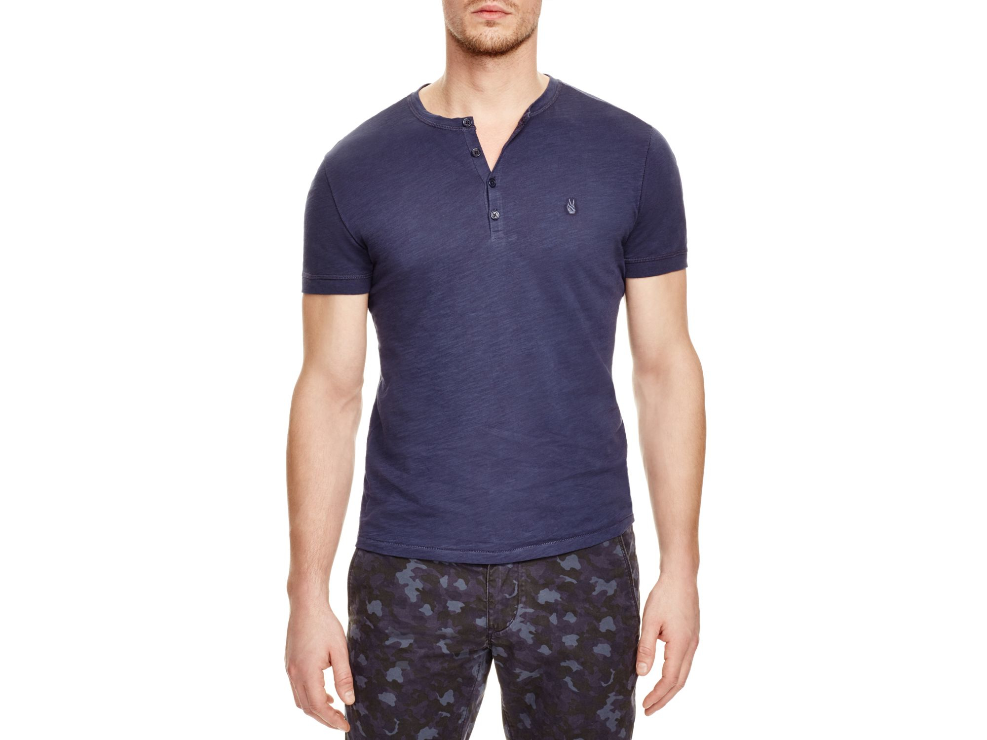 1a1b6aed John Varvatos Peace Henley Tee - 100% Bloomingdale's Exclusive in ...