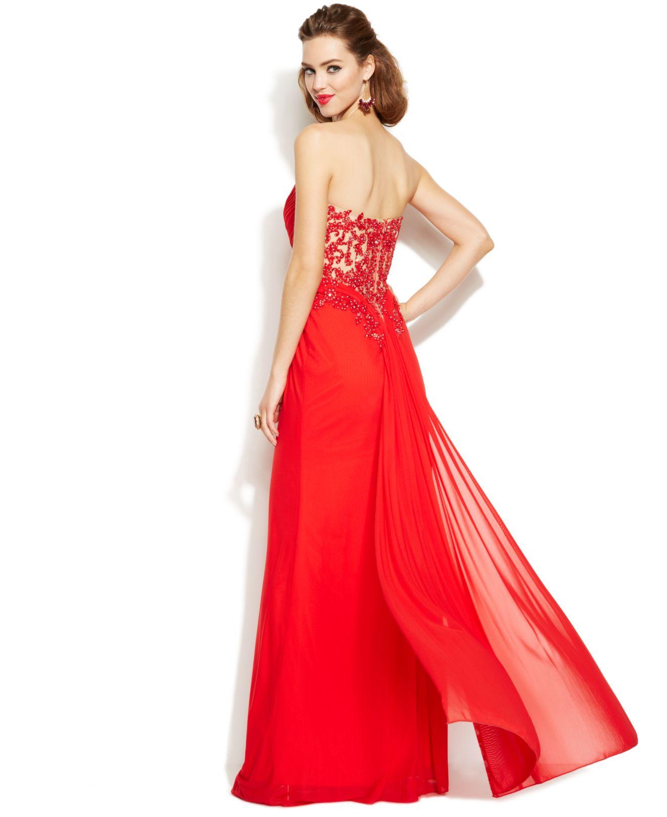 Xscape Red Dress