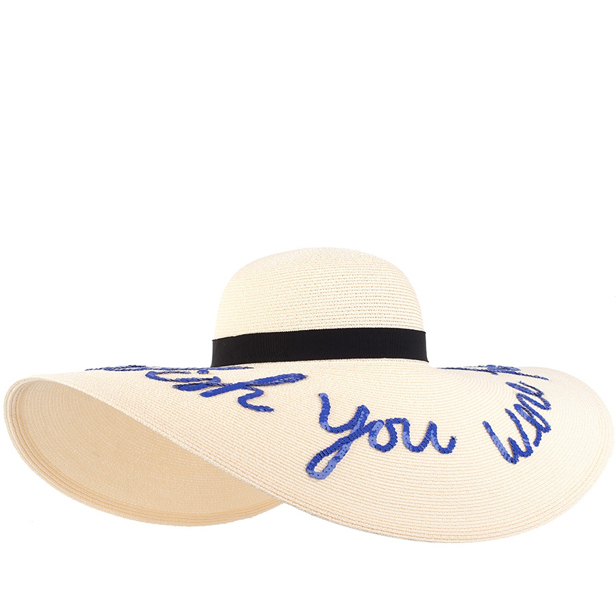 """c771620d Eugenia Kim Sunny """"wish You Were Here"""" Hat in White - Lyst"""
