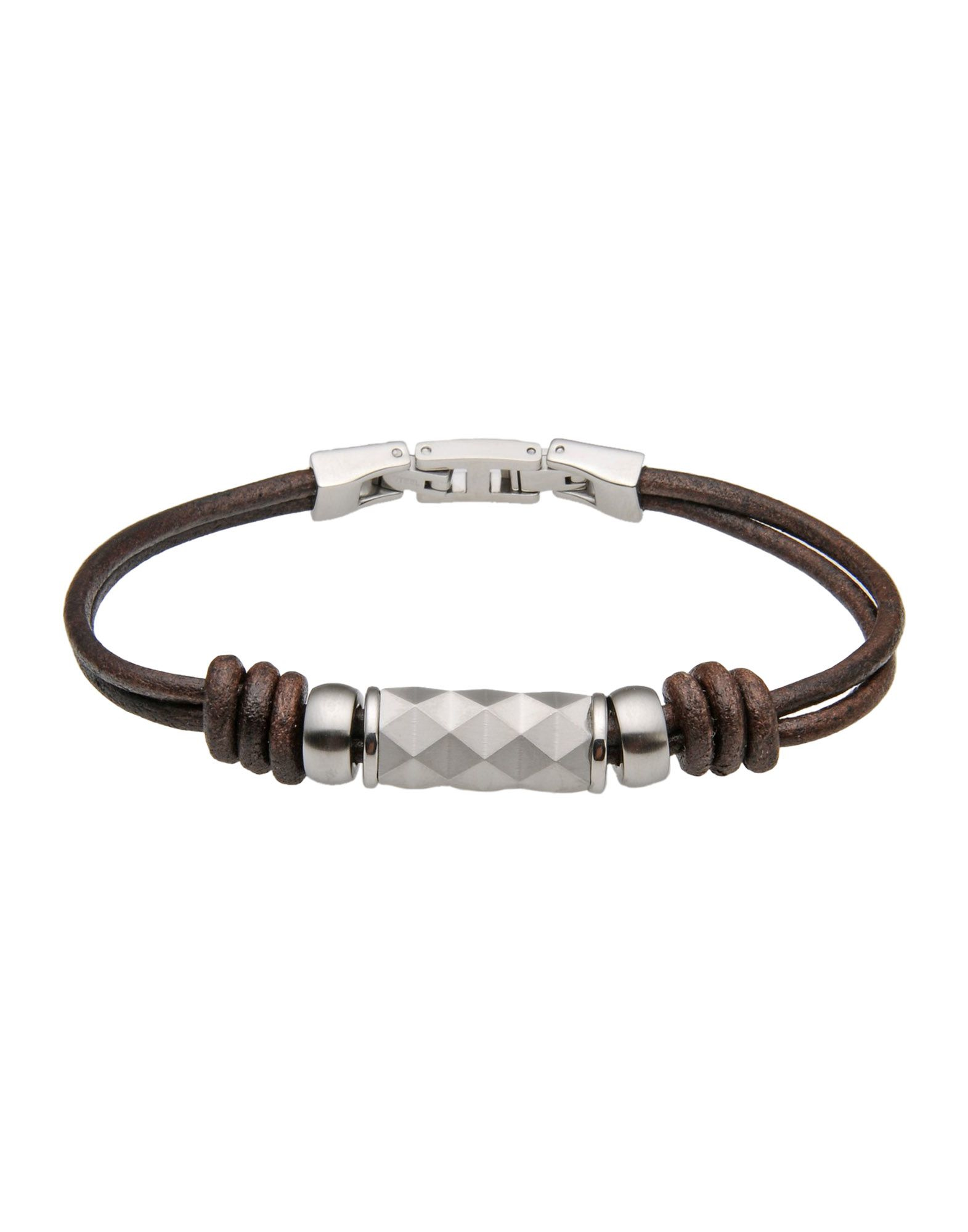 fossil bracelet in brown for lyst