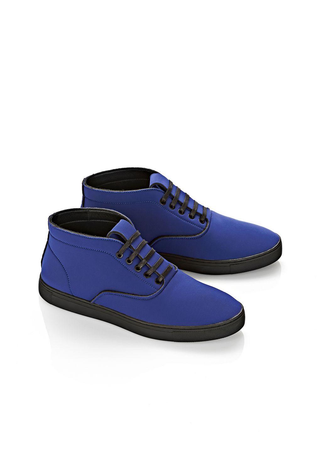 alexander wang ash high top neoprene sneaker in blue for men lyst. Black Bedroom Furniture Sets. Home Design Ideas