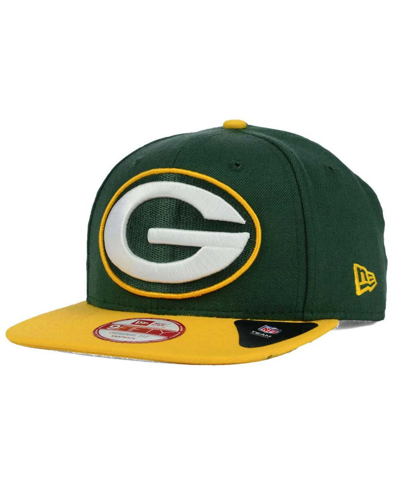 New Era Green Bay Packers Two Tone 59fifty Fitted Hat