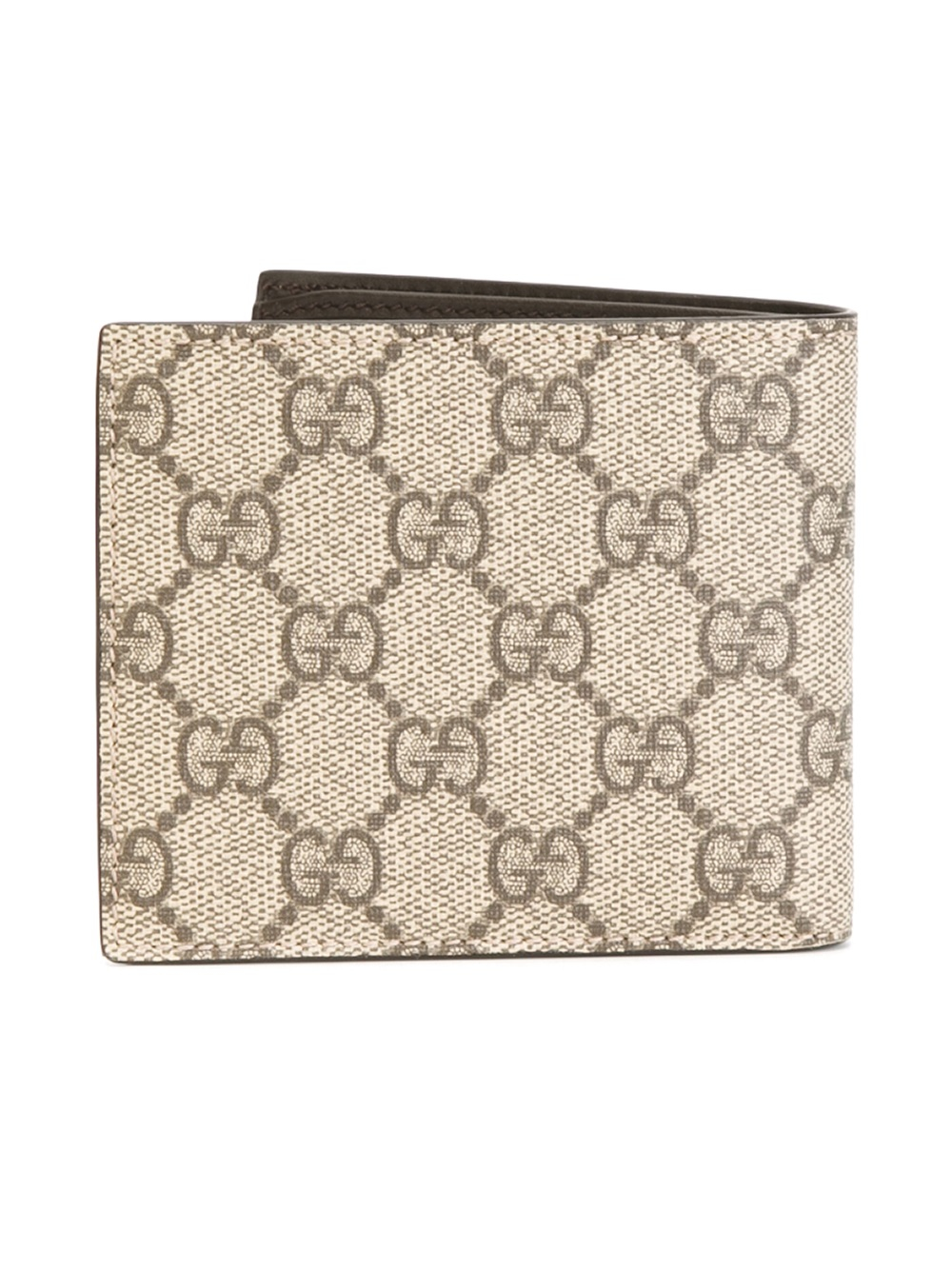 a003e2ba3bed Gucci Gg Supreme Wallet in Natural for Men - Lyst