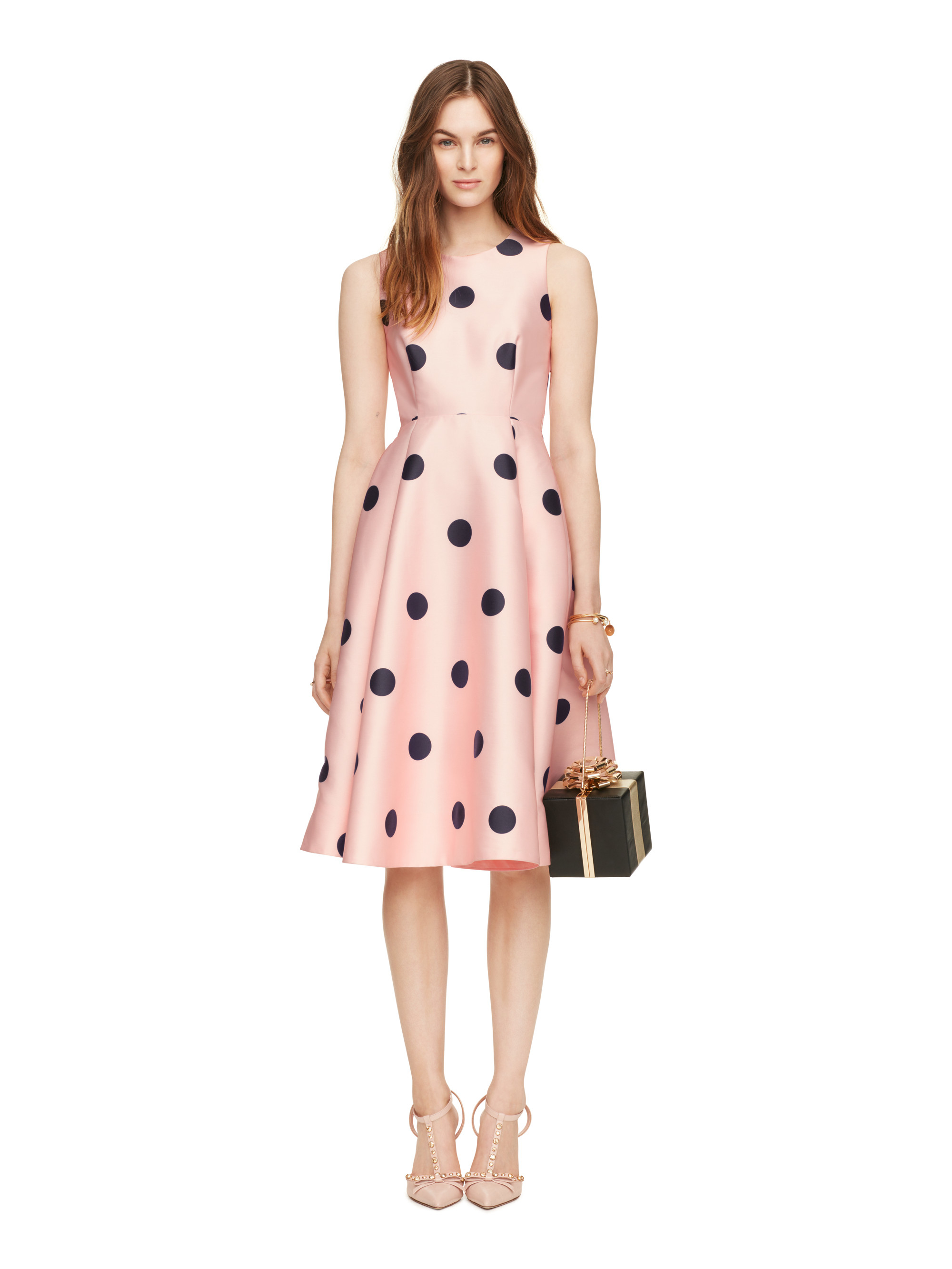 Lyst Kate Spade New York Spotlight Fit And Flare Dress