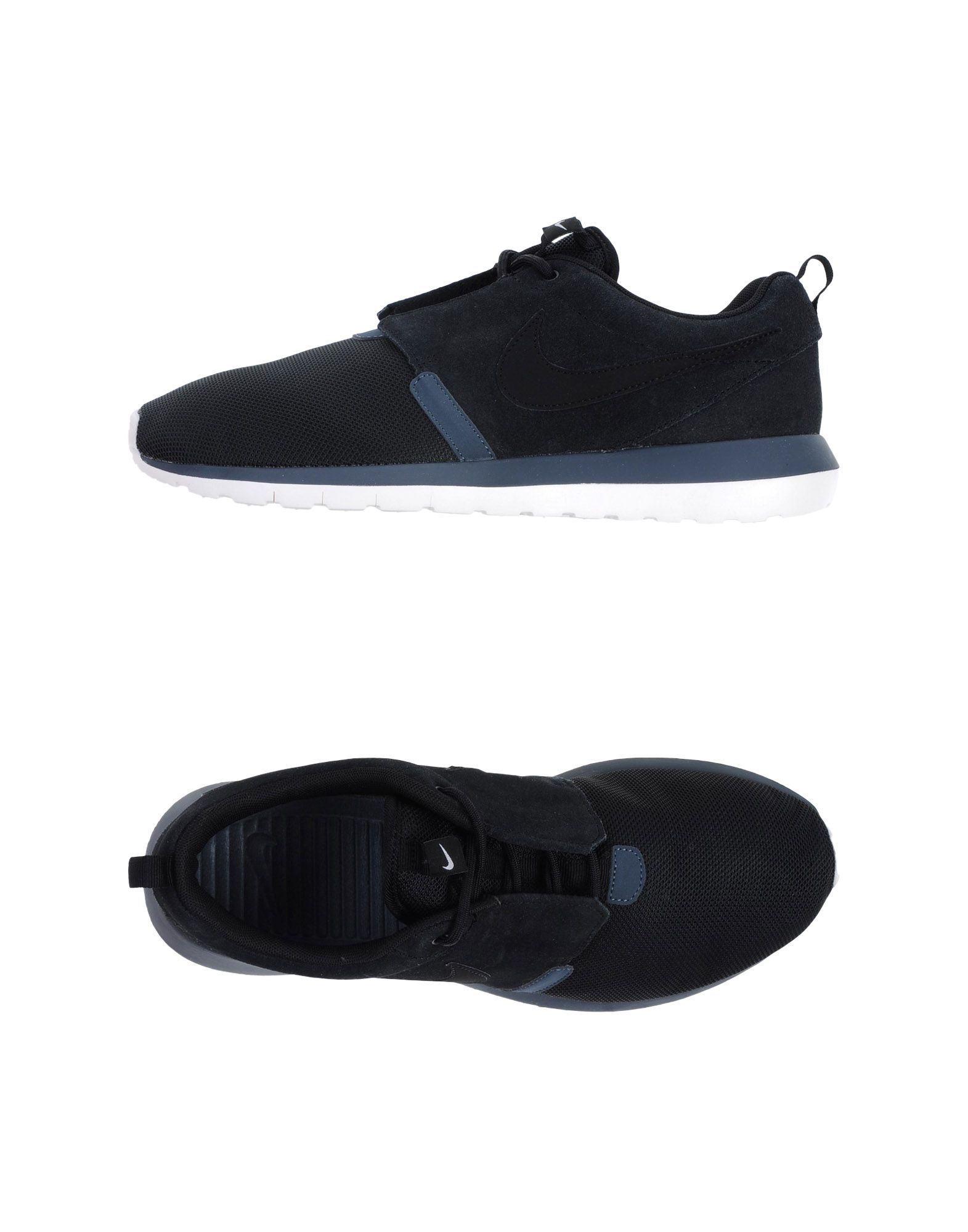nike low tops trainers in black for