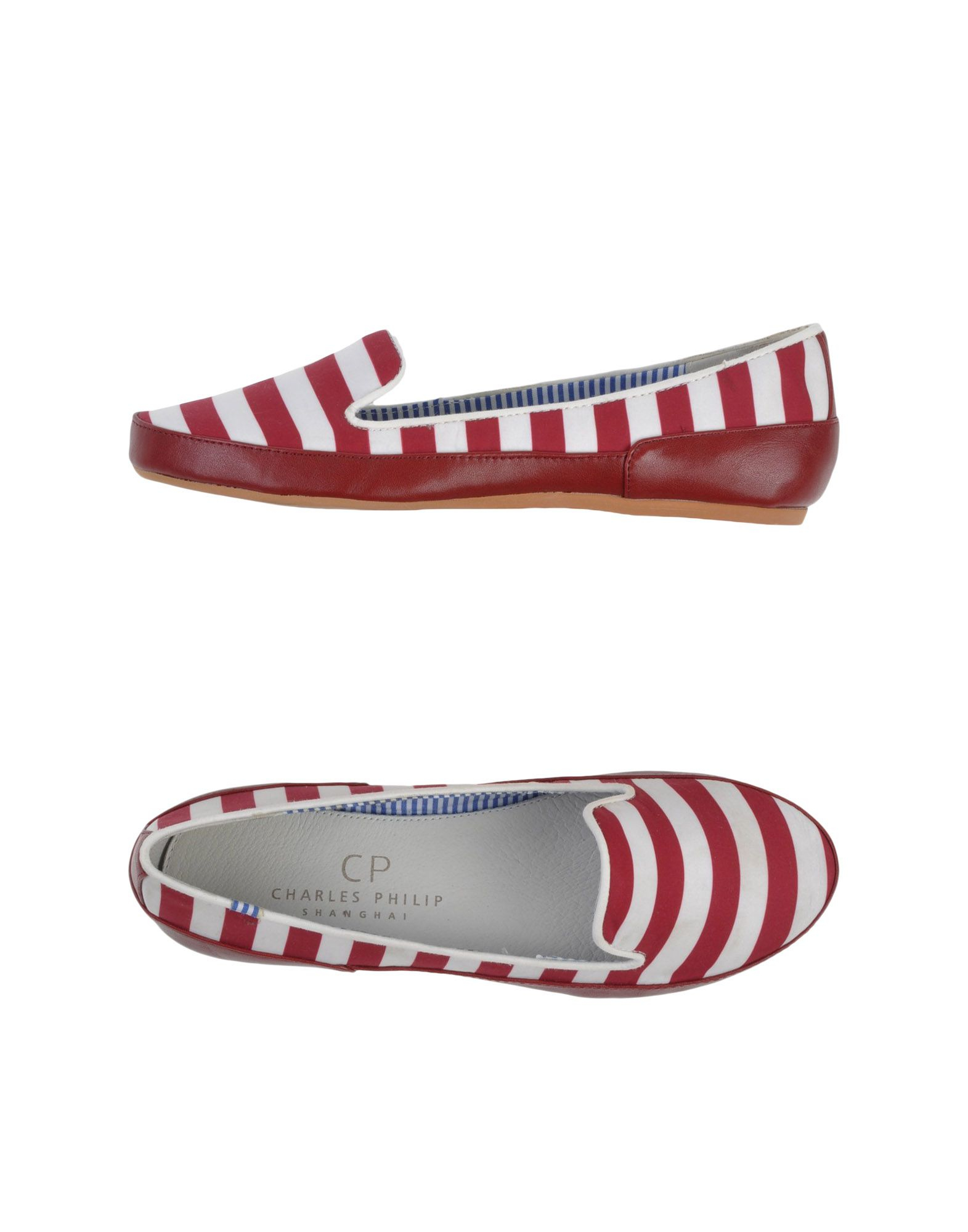Lyst Cp Charles Philip Shanghai Loafer In Red