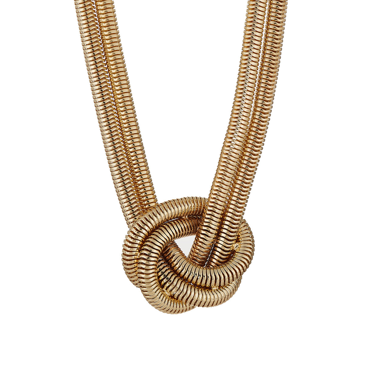 Para Mujer Multi-hilo Collar De Cadena Serpiente Kenneth Jay Lane jkek2Q6D