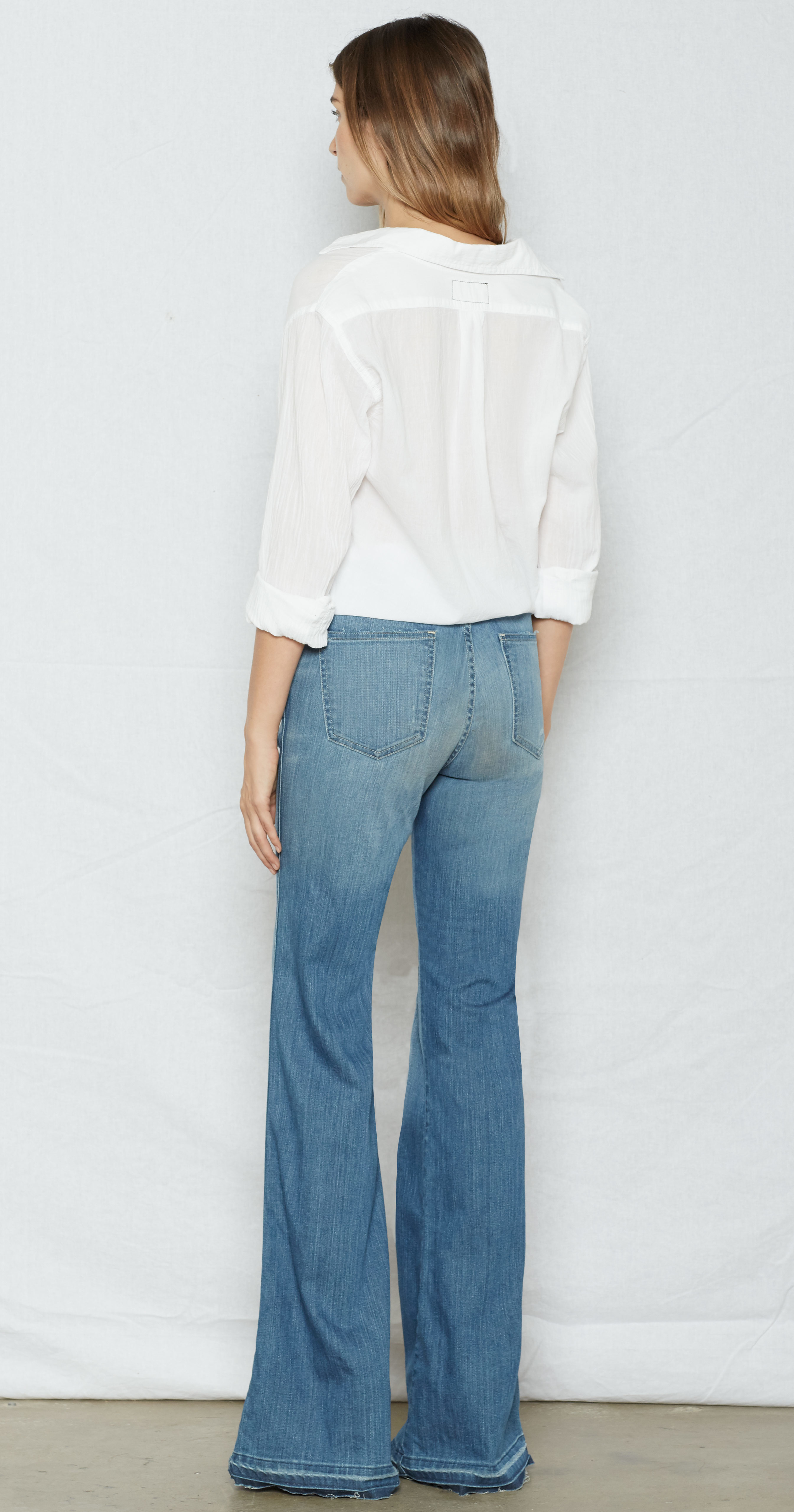 Current/Elliott 'The Low Bell' jeans Sast WIFowXQd