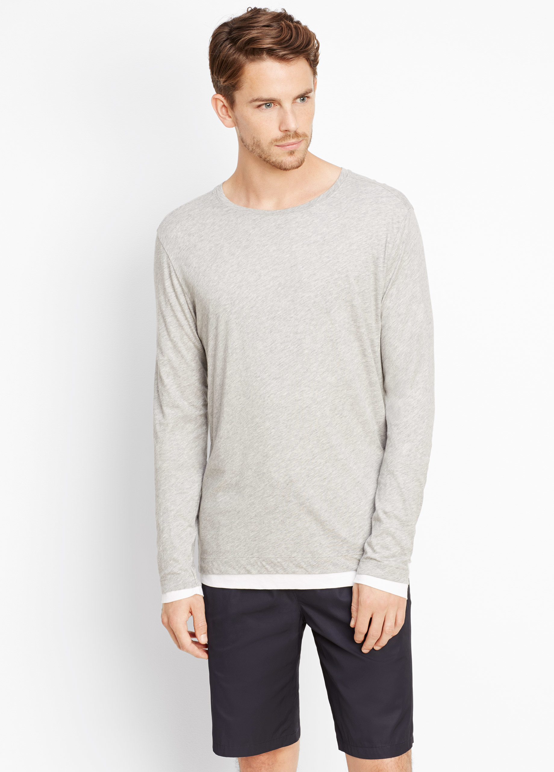 Rated 4 out of 5 by Super Shopper from Pima Cotton Scoop long sleeve