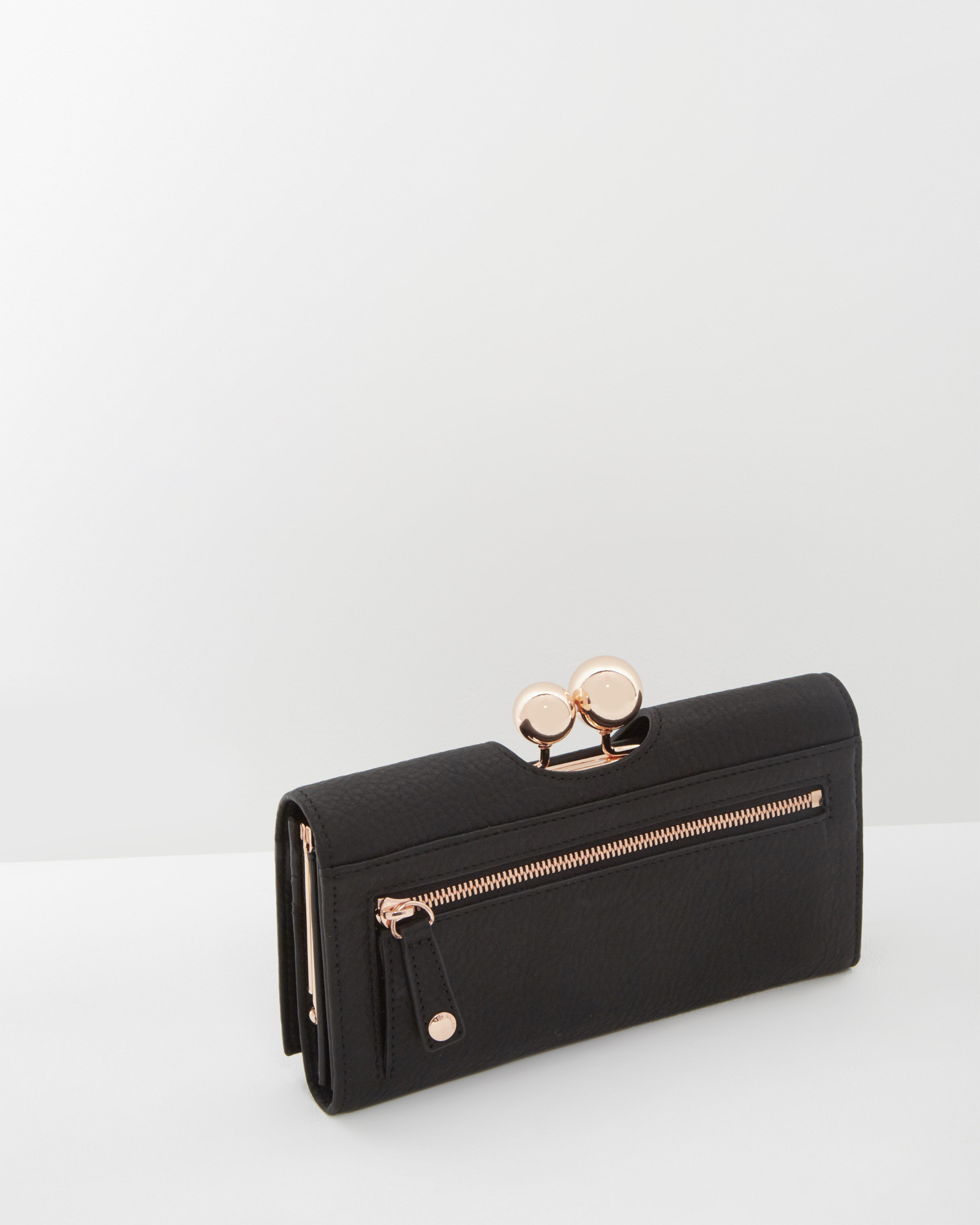 5e97db8688ce Ted Baker Black Leather Purse Best Image Ccdbb