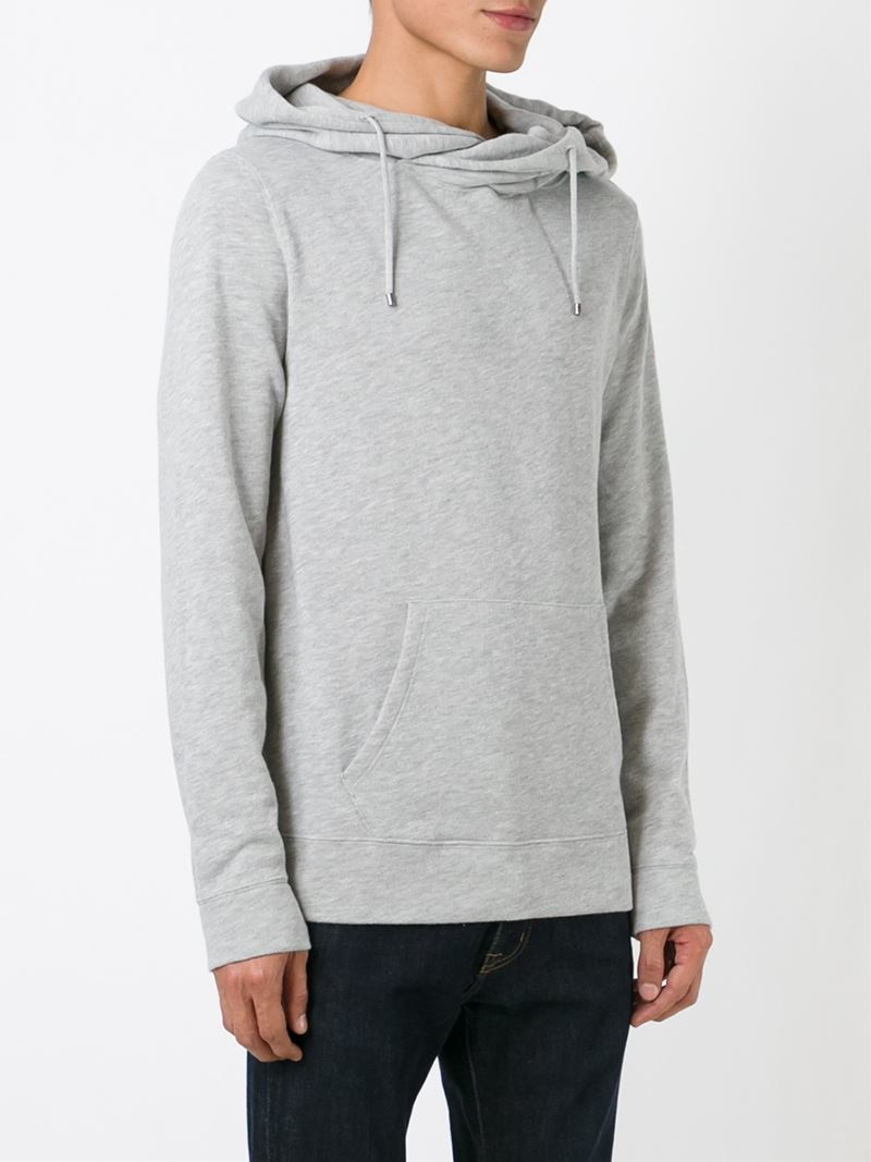 ralph lauren hooded sweatshirt in gray for men lyst. Black Bedroom Furniture Sets. Home Design Ideas