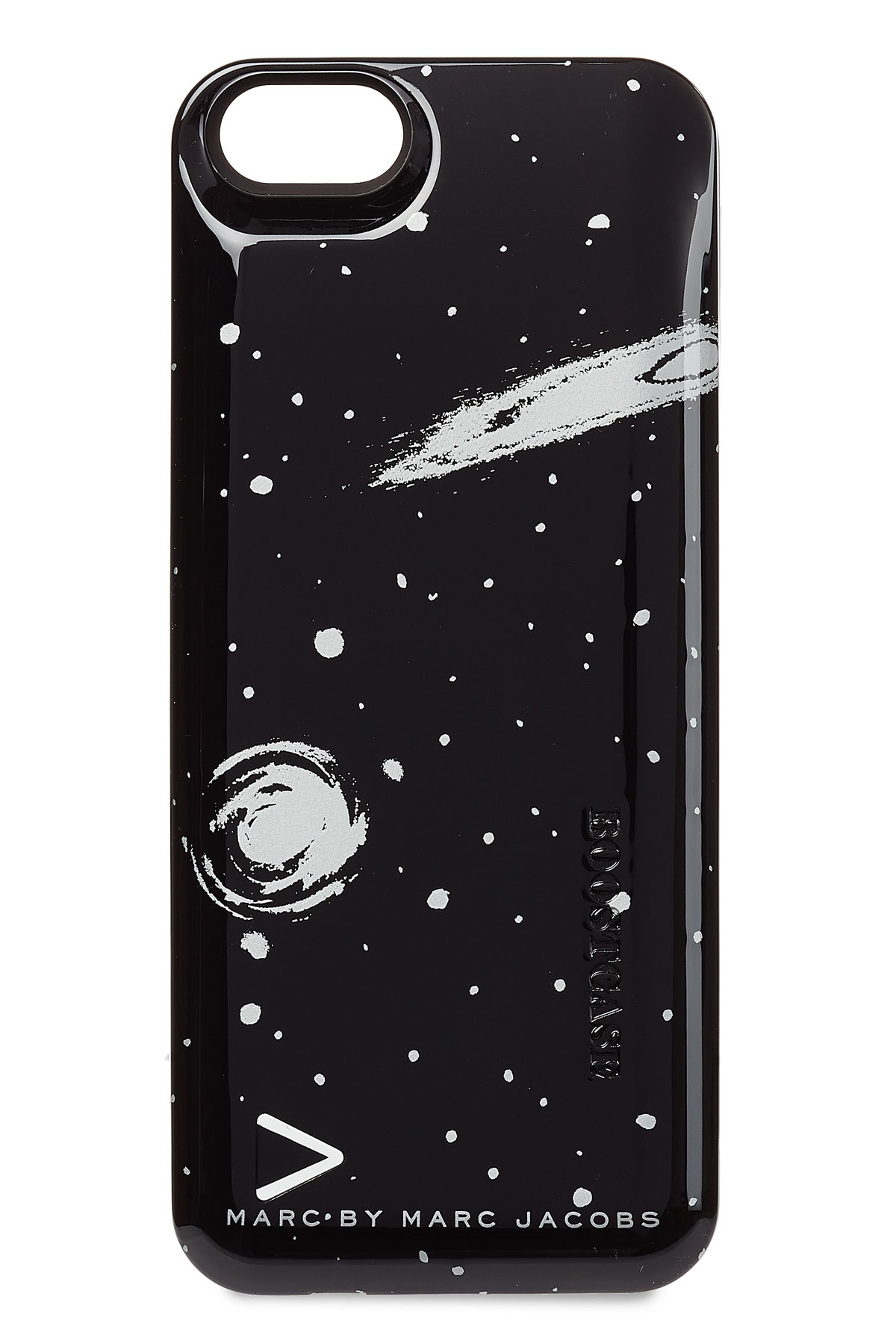 lyst marc by marc jacobs boost iphone case black in black. Black Bedroom Furniture Sets. Home Design Ideas