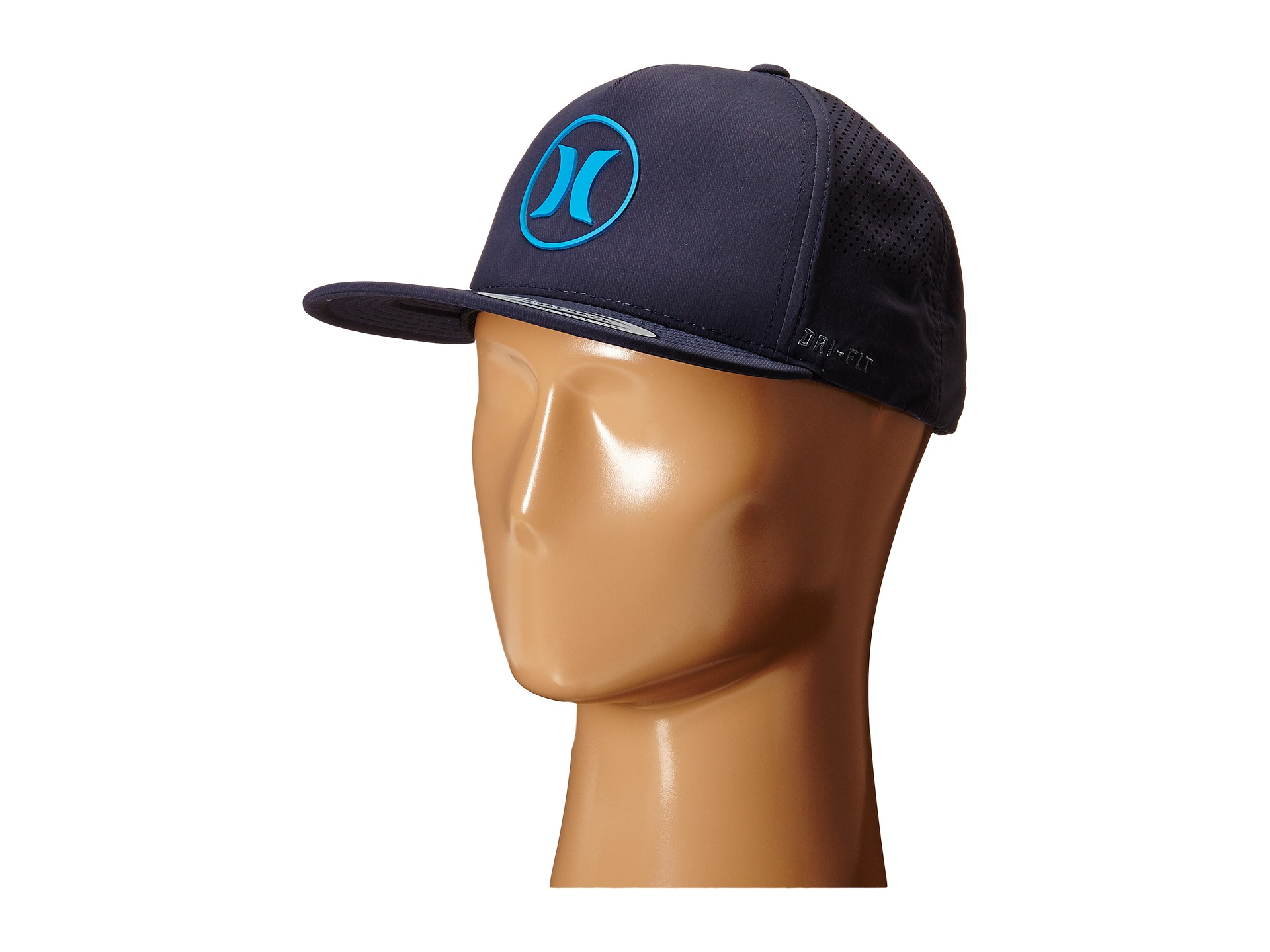 new styles 85f71 6eaf8 ... promo code for lyst hurley dri fit icon adjustable hat in blue for men  5532d 4fa01