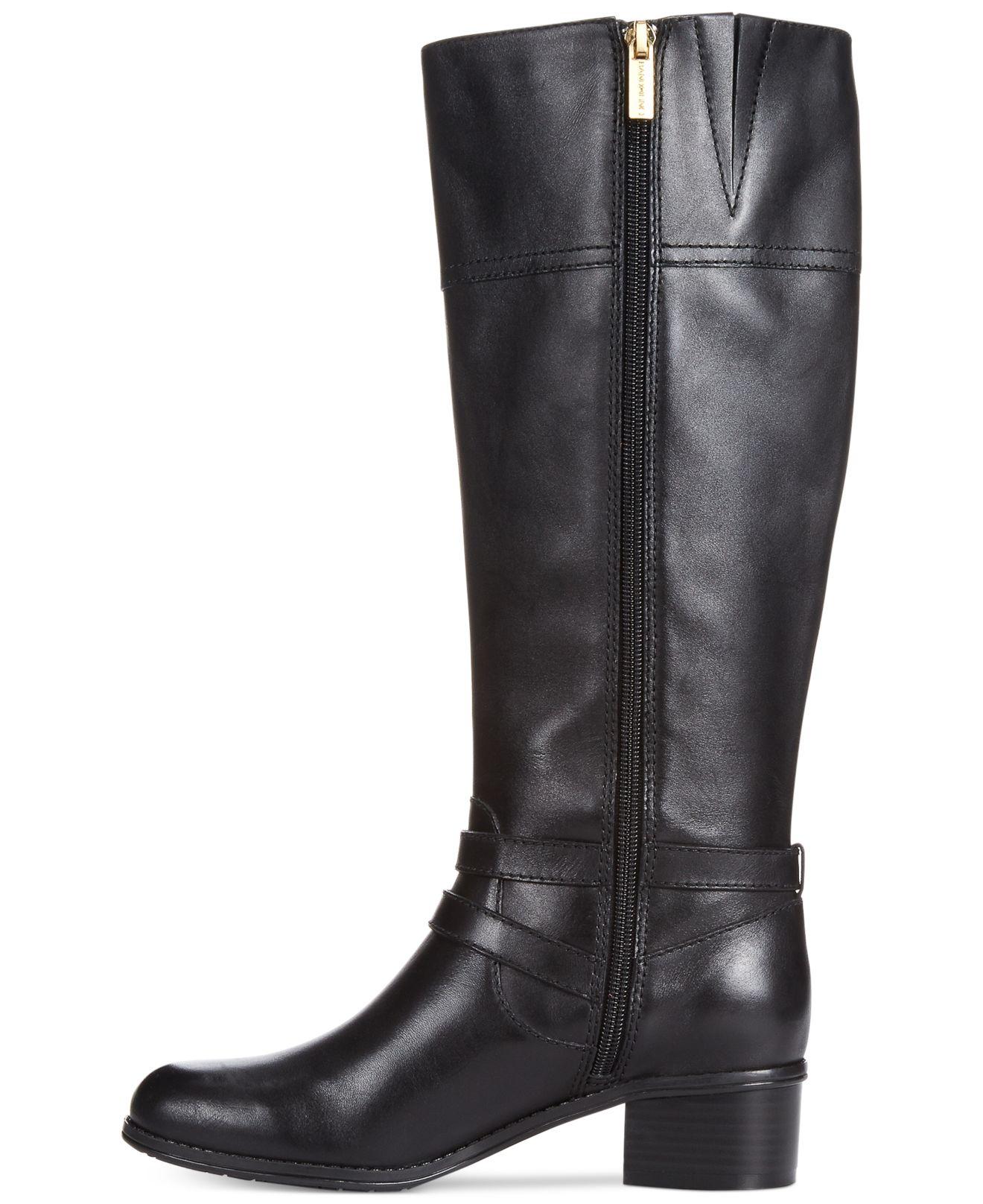 57b76f7177e5 lyst bandolino carlotta wide calf riding boots a macy s rh lyst com bandolino  wide calf boots sale bandolino wide calf boots sale