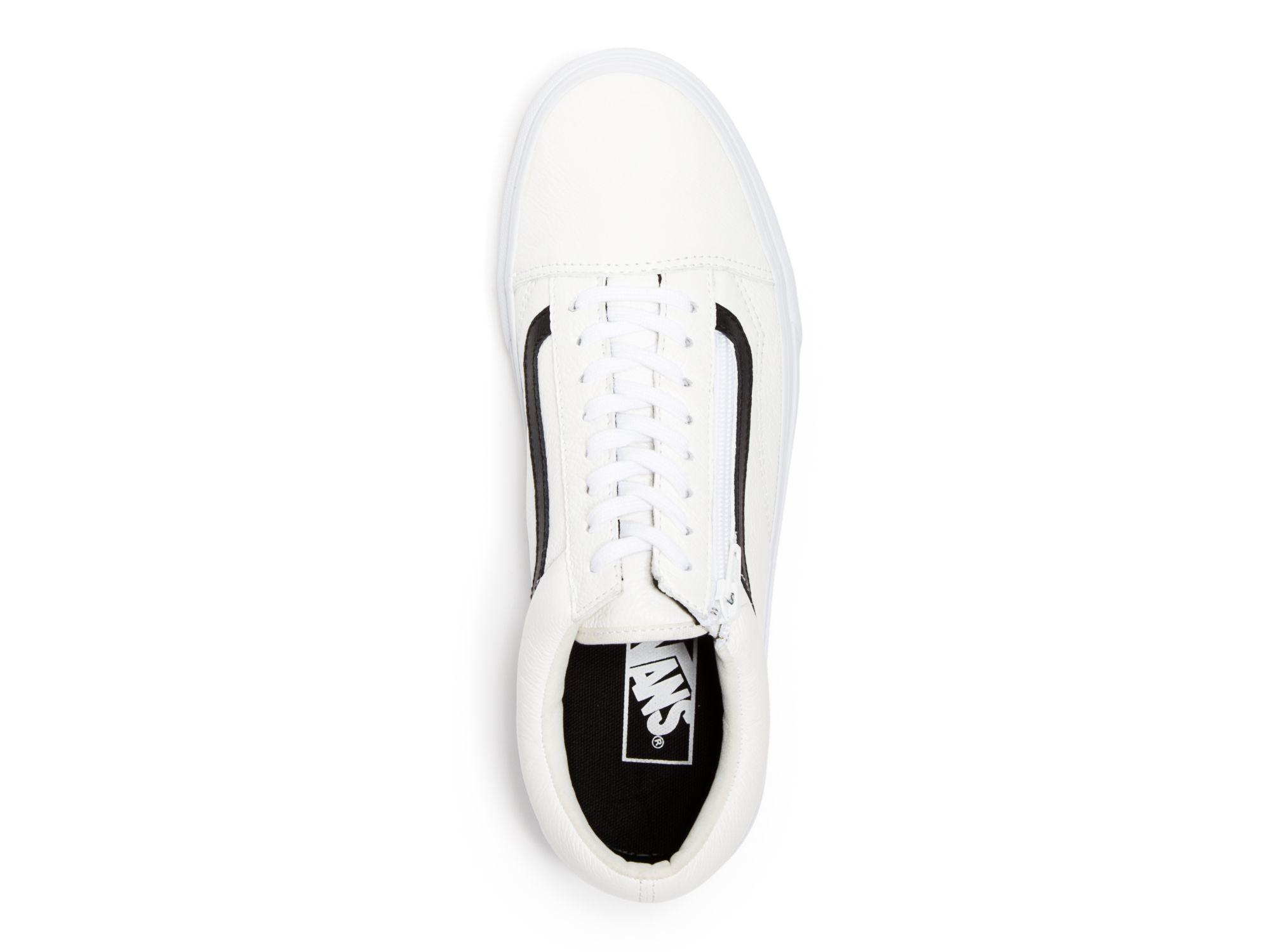 XTX49700000521 Zapatos de moda Vans Old Skool (Premium Leather) Racing Red/ True  White