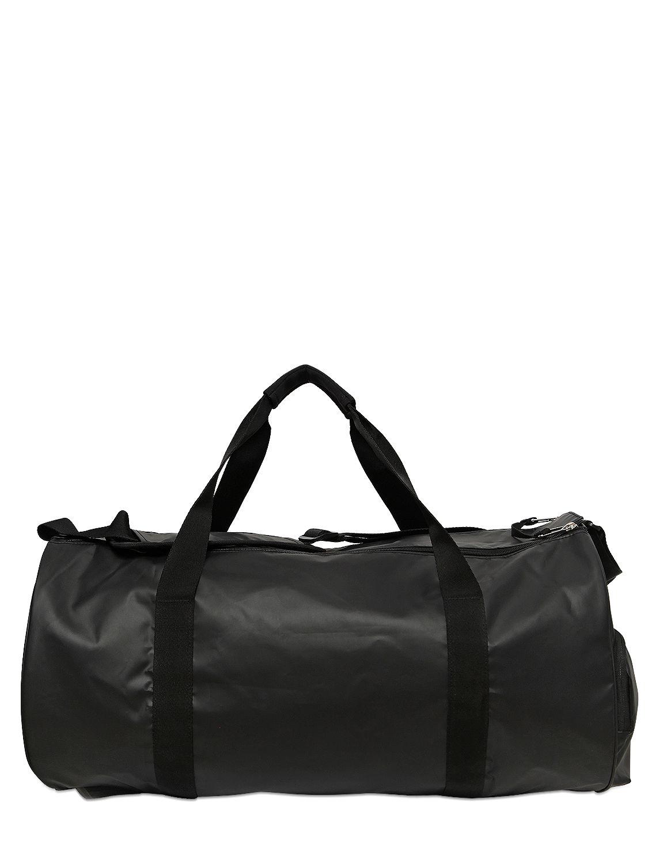 Lyst - adidas Water Repellent Coated Nylon Duffle Bag in Black for Men 5b50c085b9d52