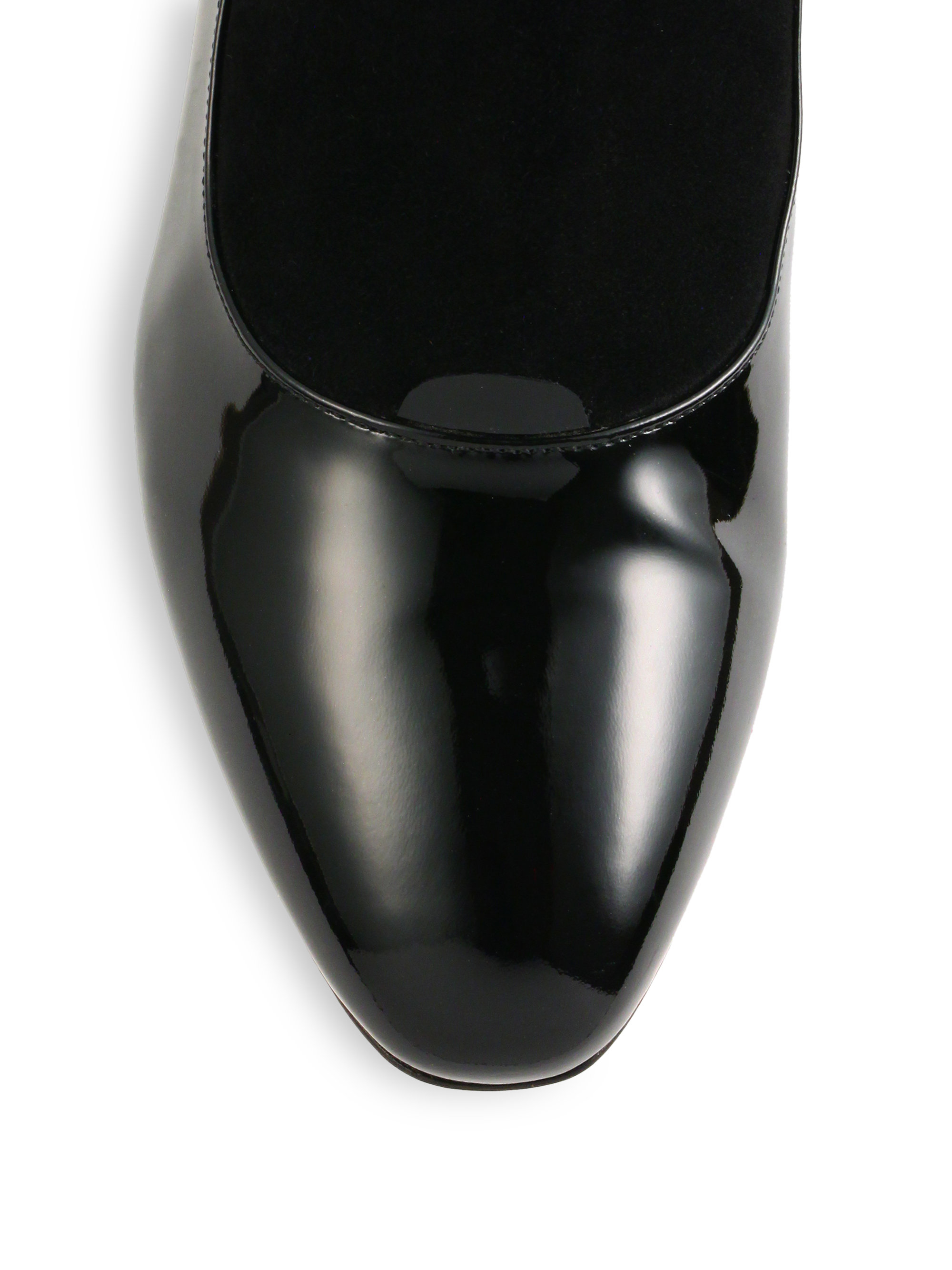 giorgio armani suede patent leather flat ankle boots in