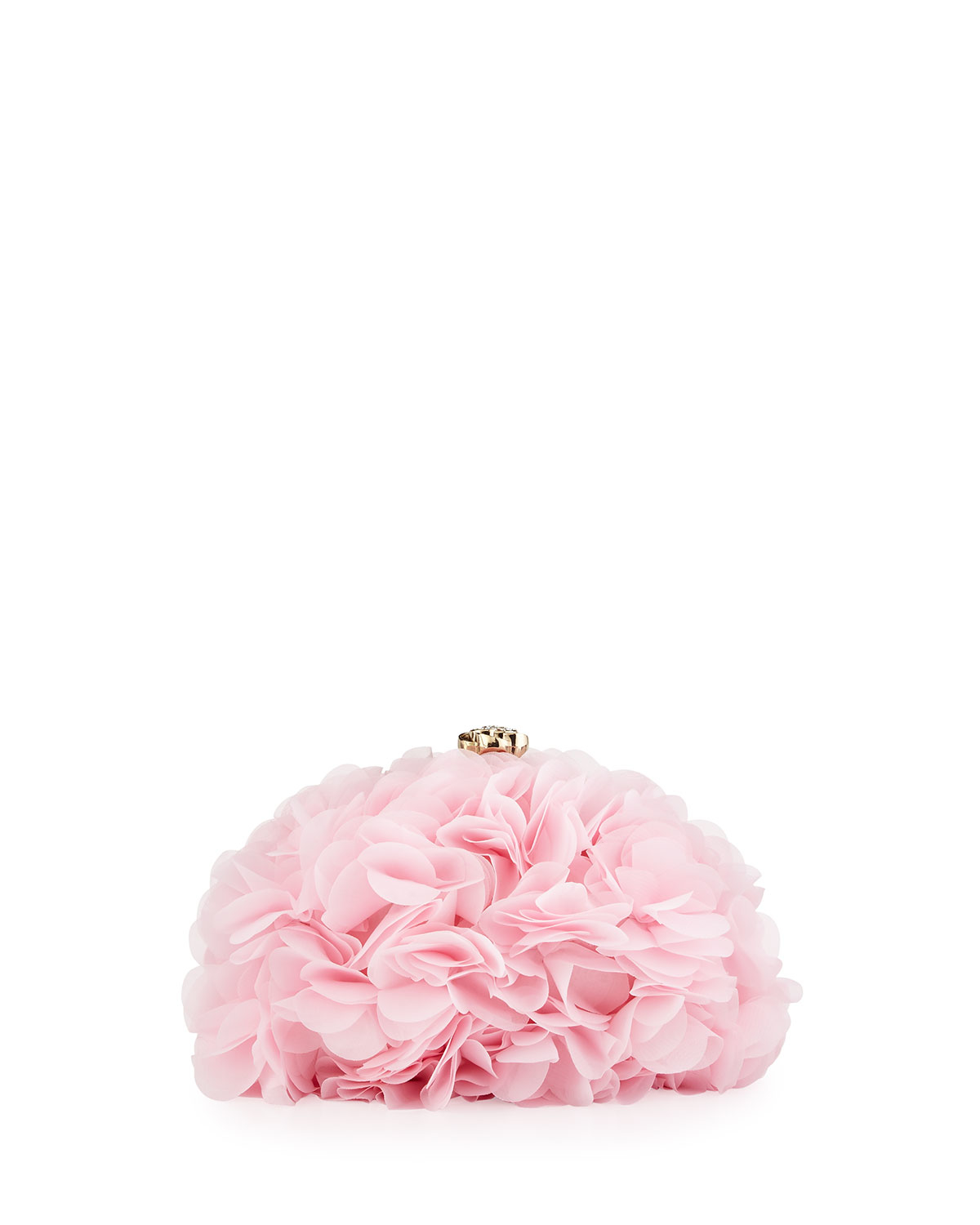 Lyst Betsey Johnson Soft Flower Clutch Bag In Pink