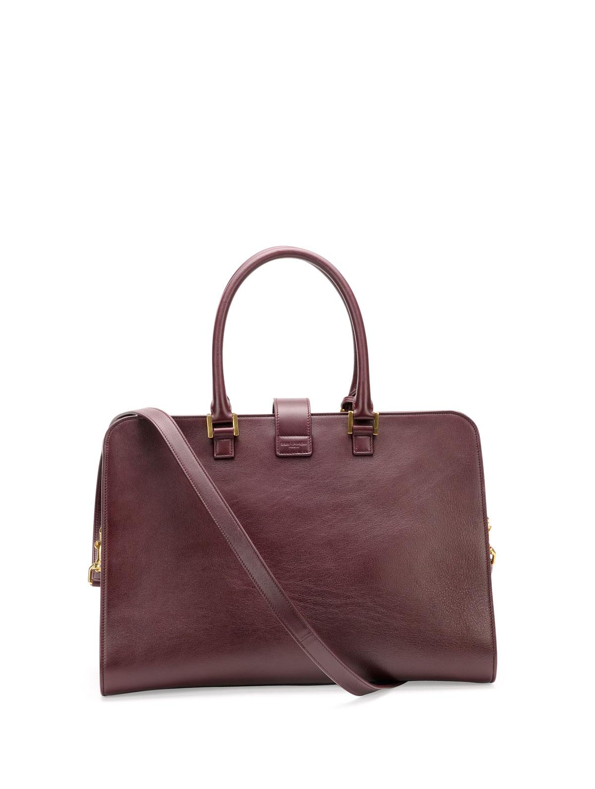 409800931d Lyst - Saint Laurent Monogram Small Zip-around Satchel Bag .