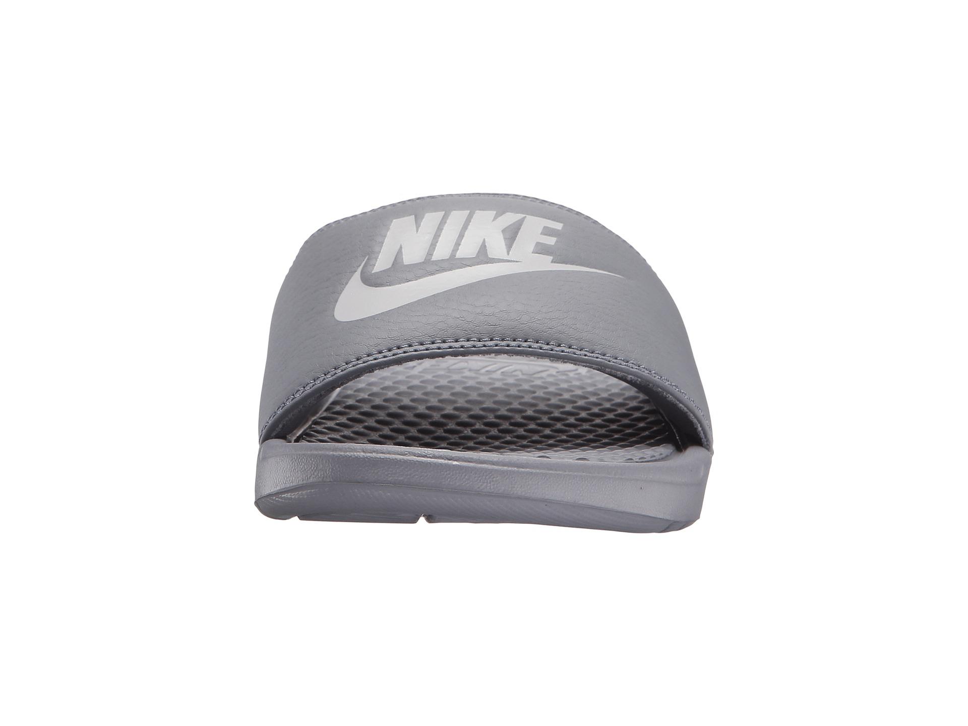 best website 49a5c 1b8db Lyst - Nike Benassi Jdi Slide in Gray