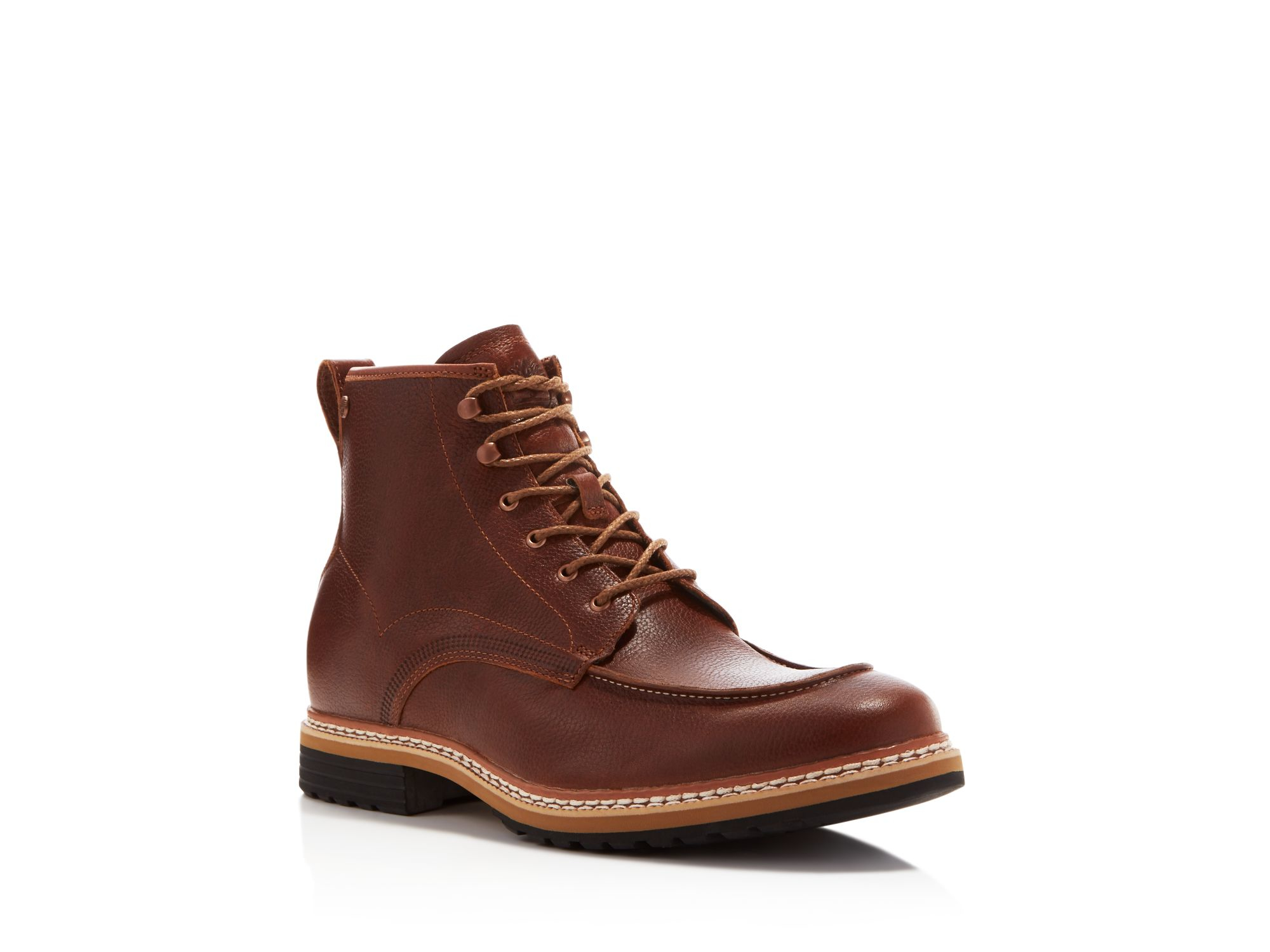 timberland west boots in brown for lyst