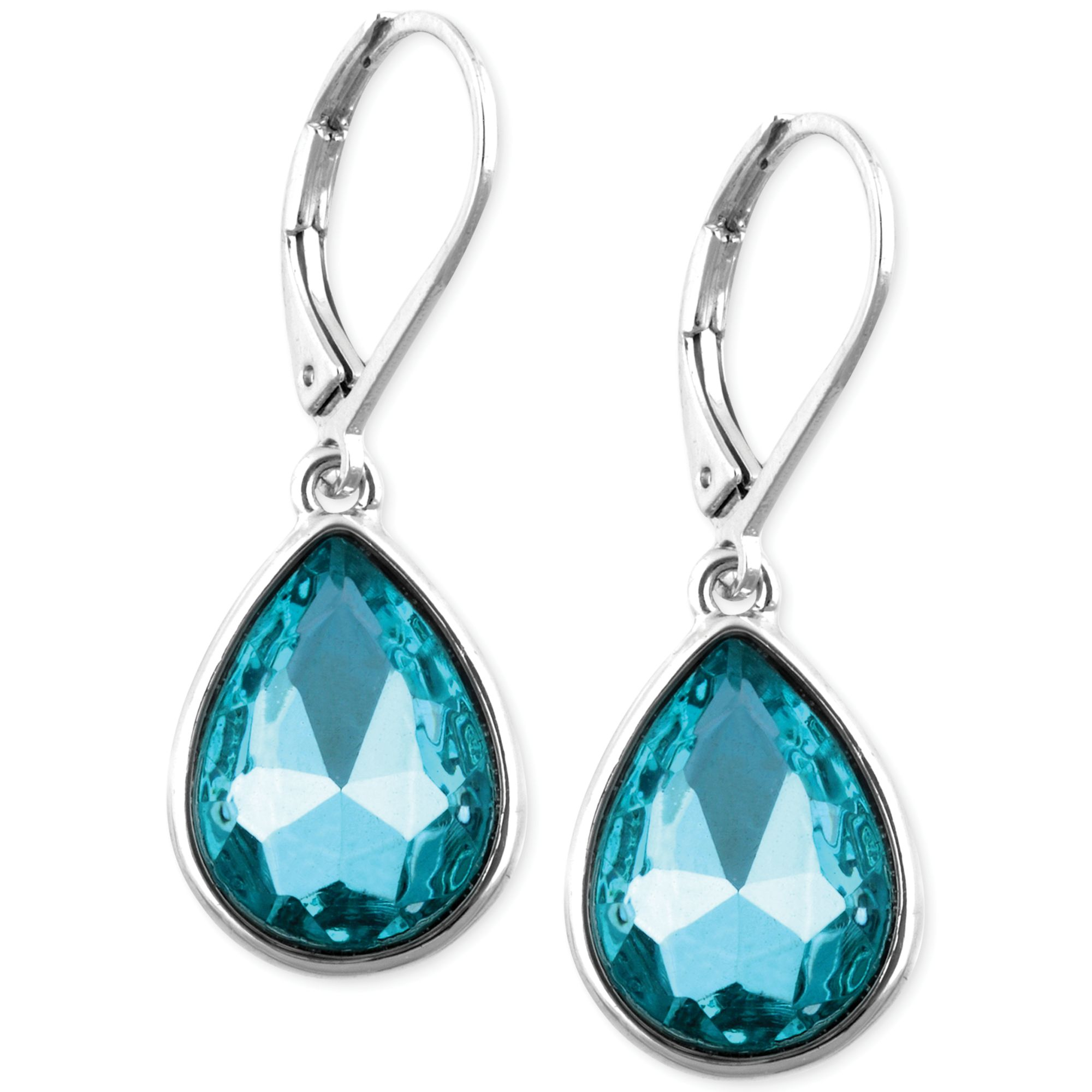 earrings store gemstone blue statement product aphrodite