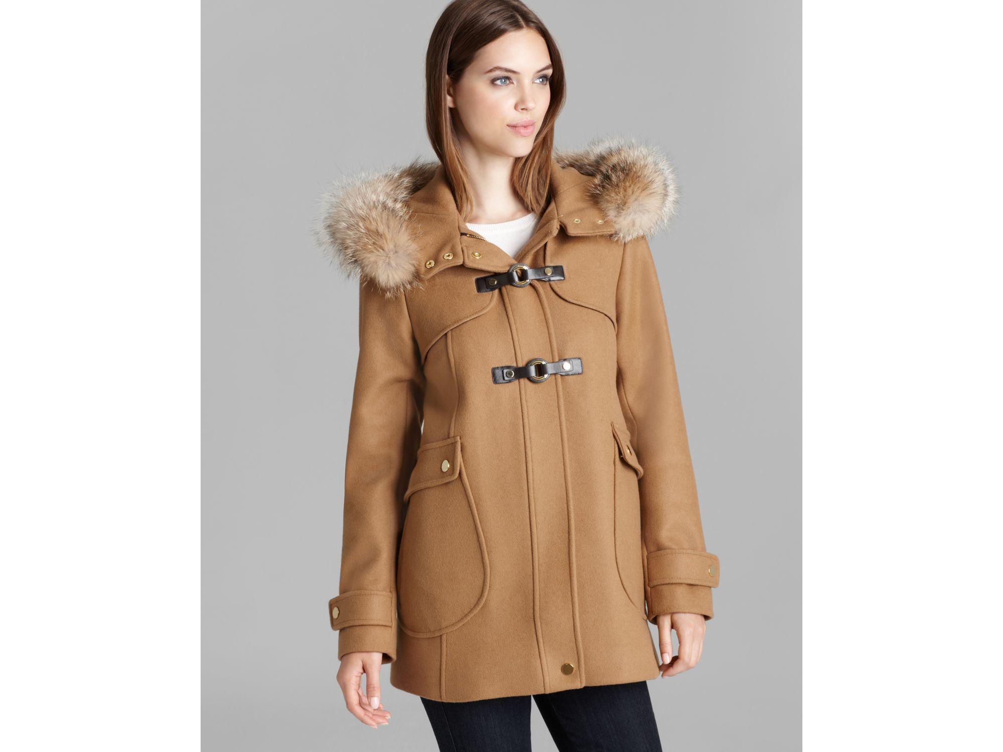 Images of Fur Trim Coat - Reikian