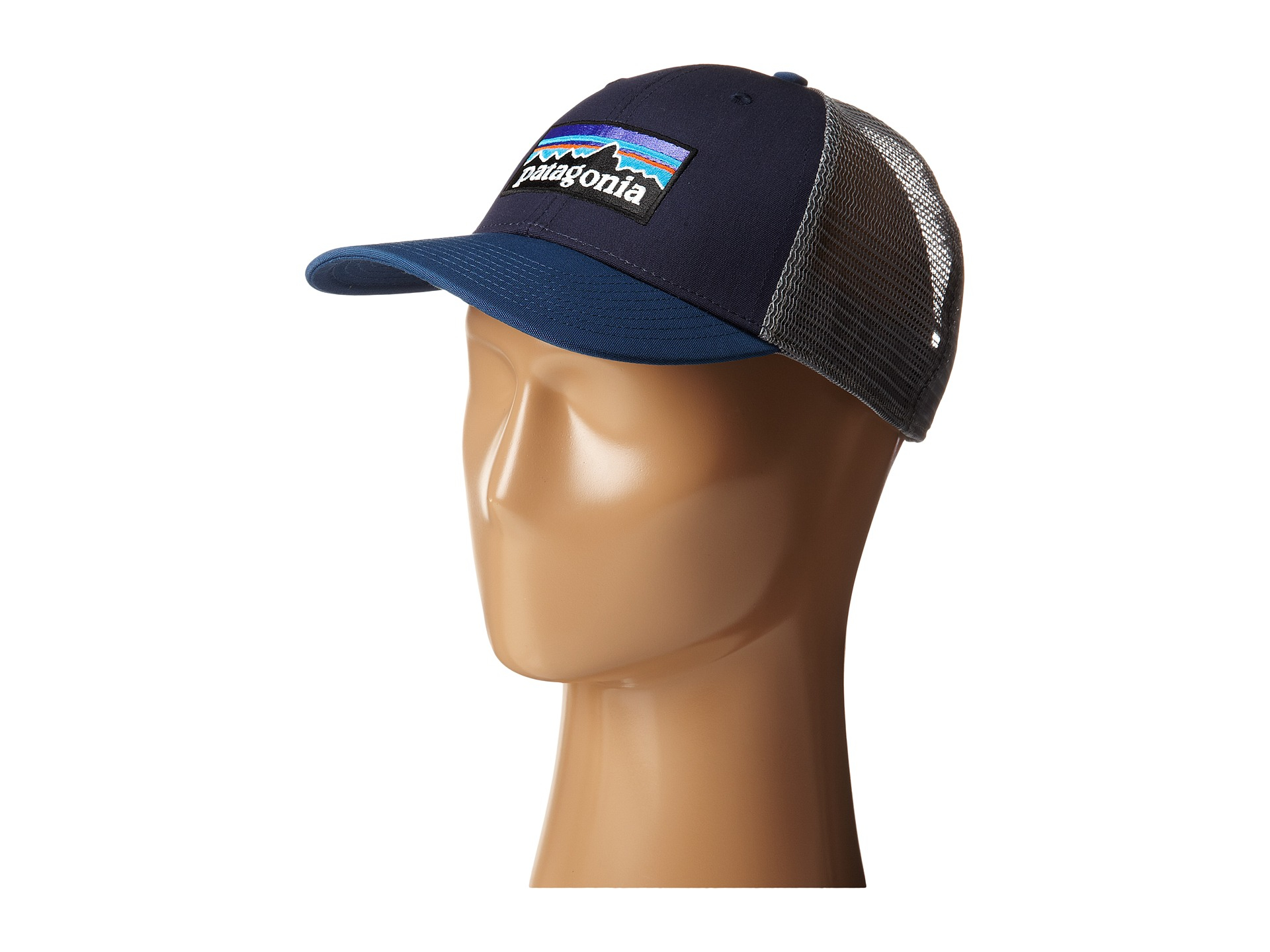 571579c266eb6 Patagonia P6 Lopro Trucker Hat in Blue - Lyst