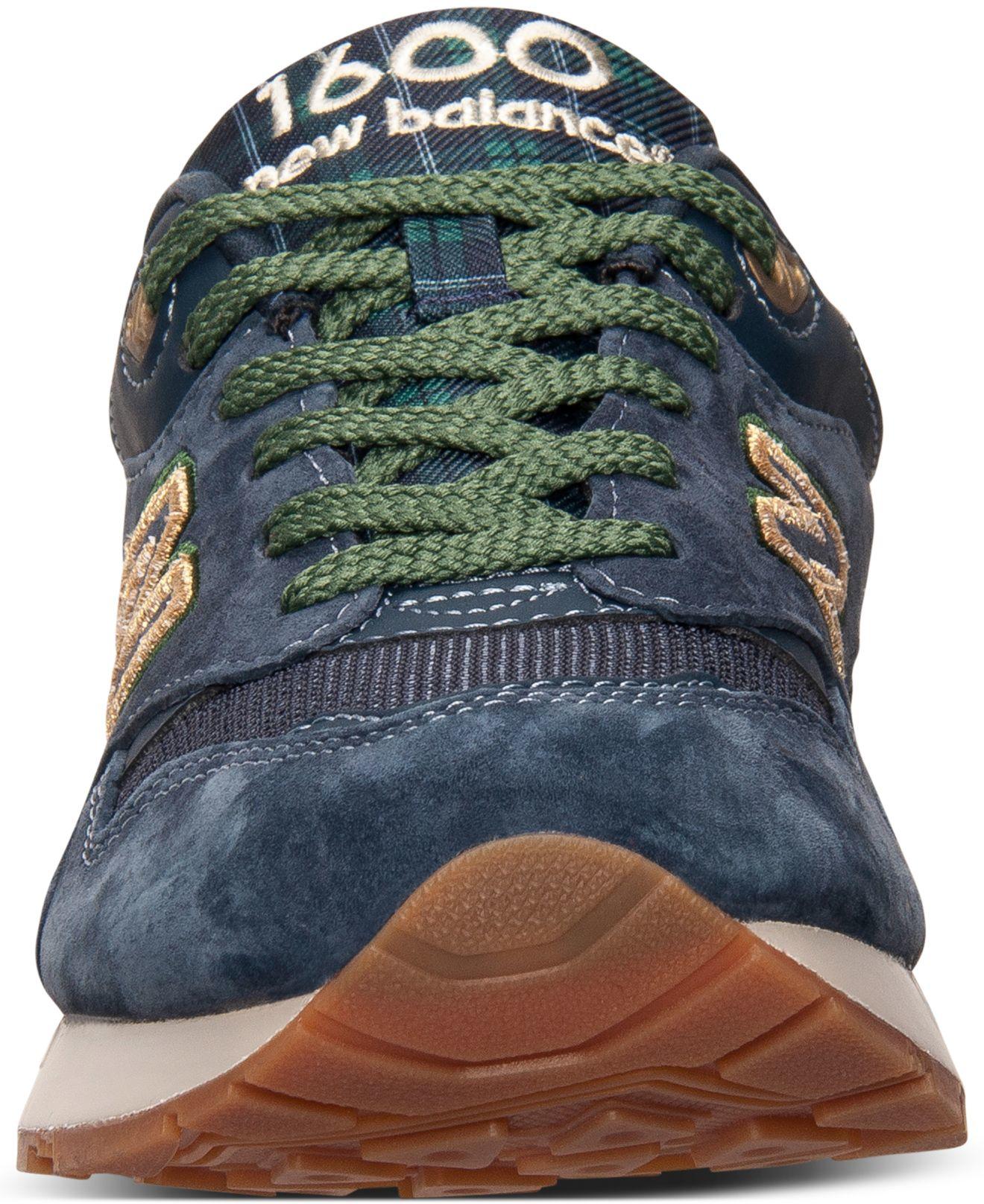 new balance 1600 tartan running sneaker