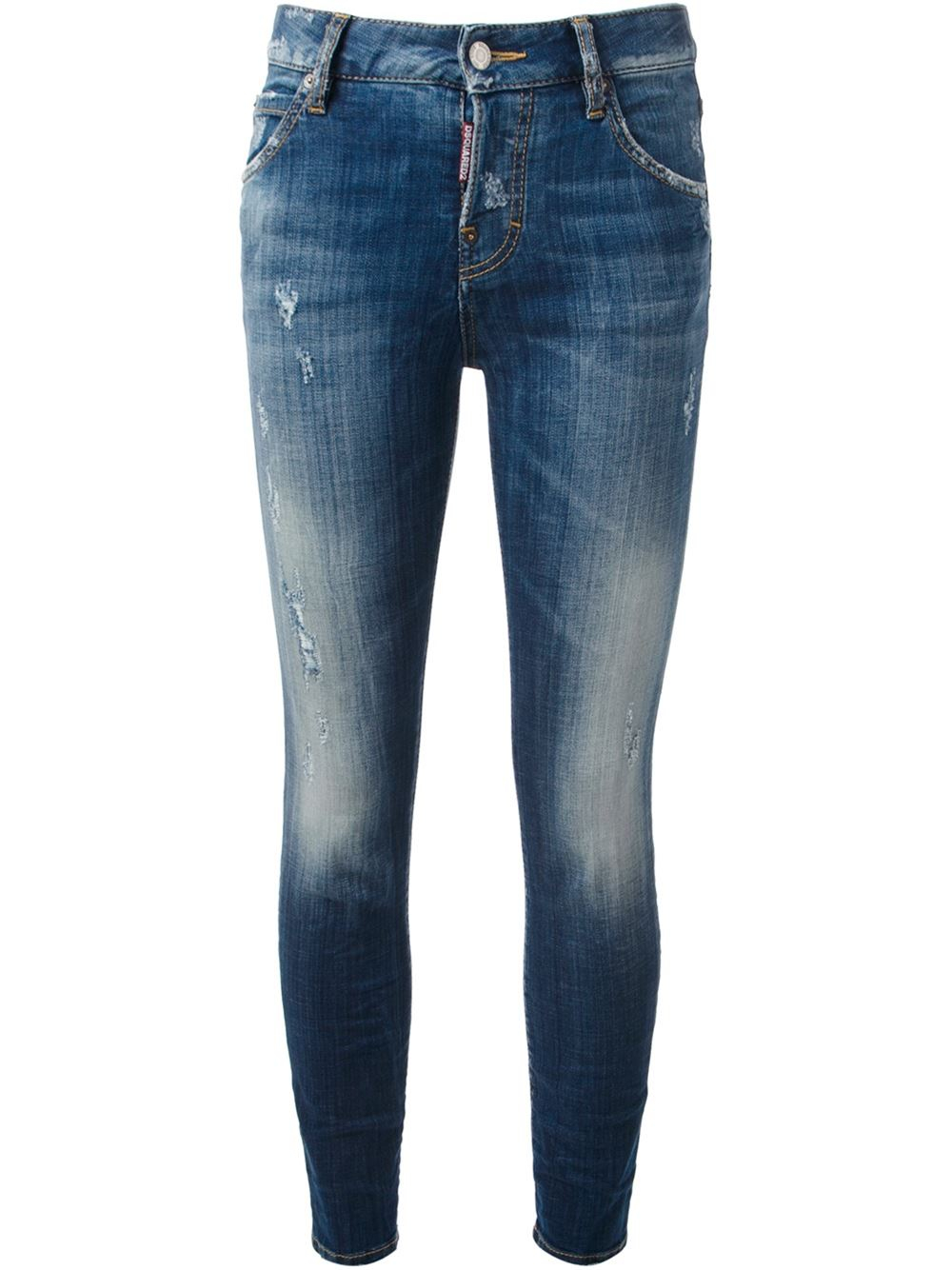 Dsquaredu00b2 u0026#39;Cool Girlu0026#39; Jeans in Blue | Lyst