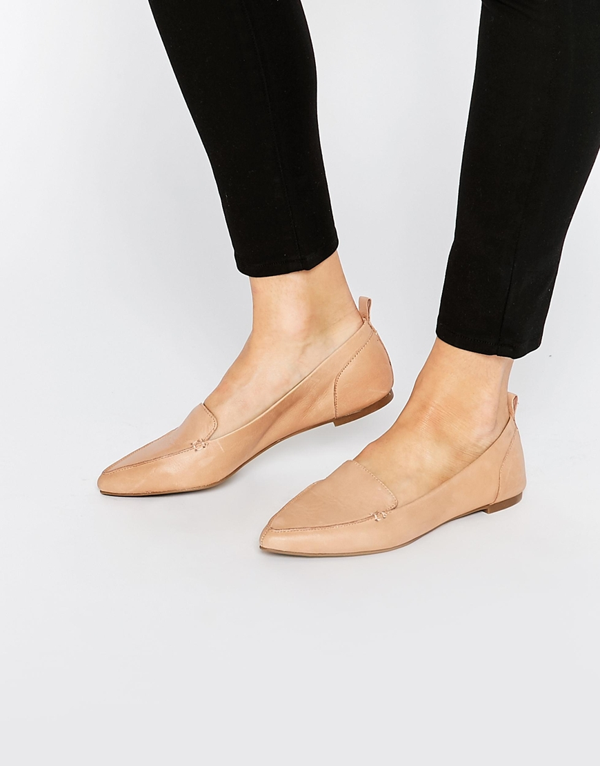 521d10432ab8 Lyst - ALDO Bazovica Nude Flat Ballerina Shoes in Natural
