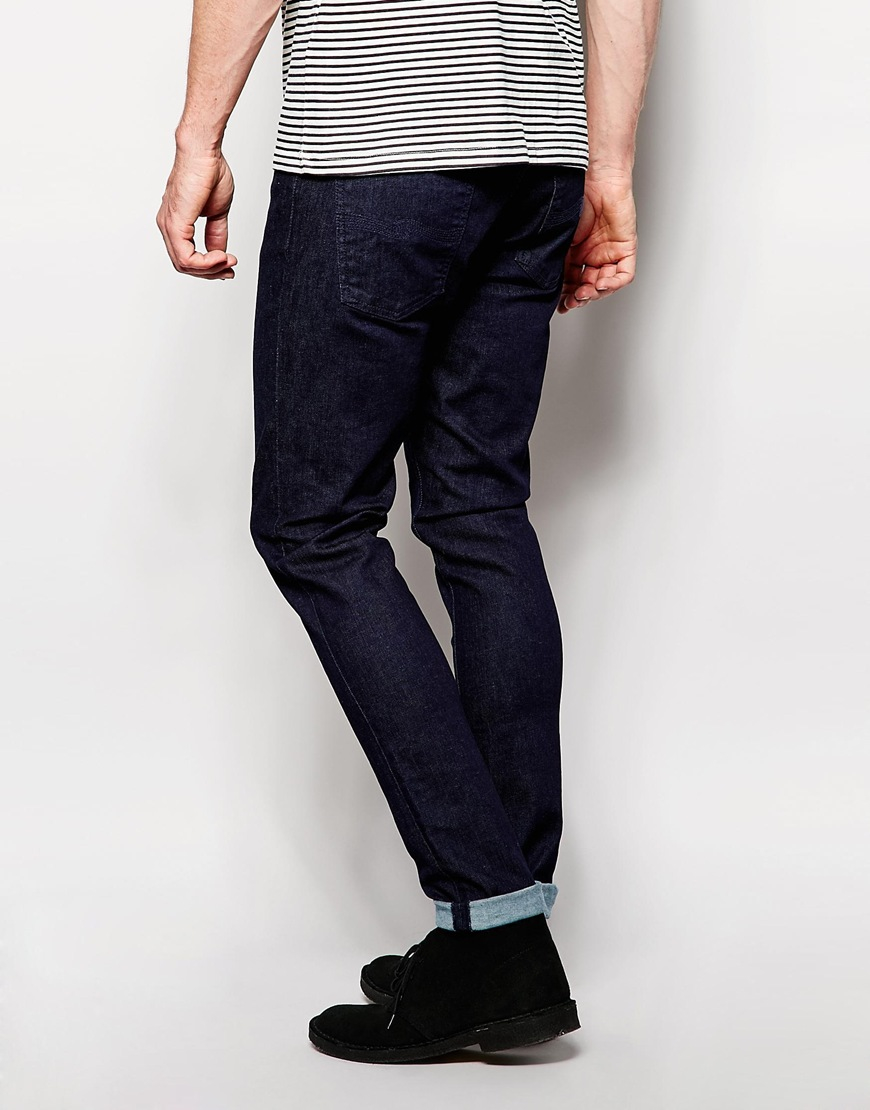 Camouflage Skinny Jeans Men