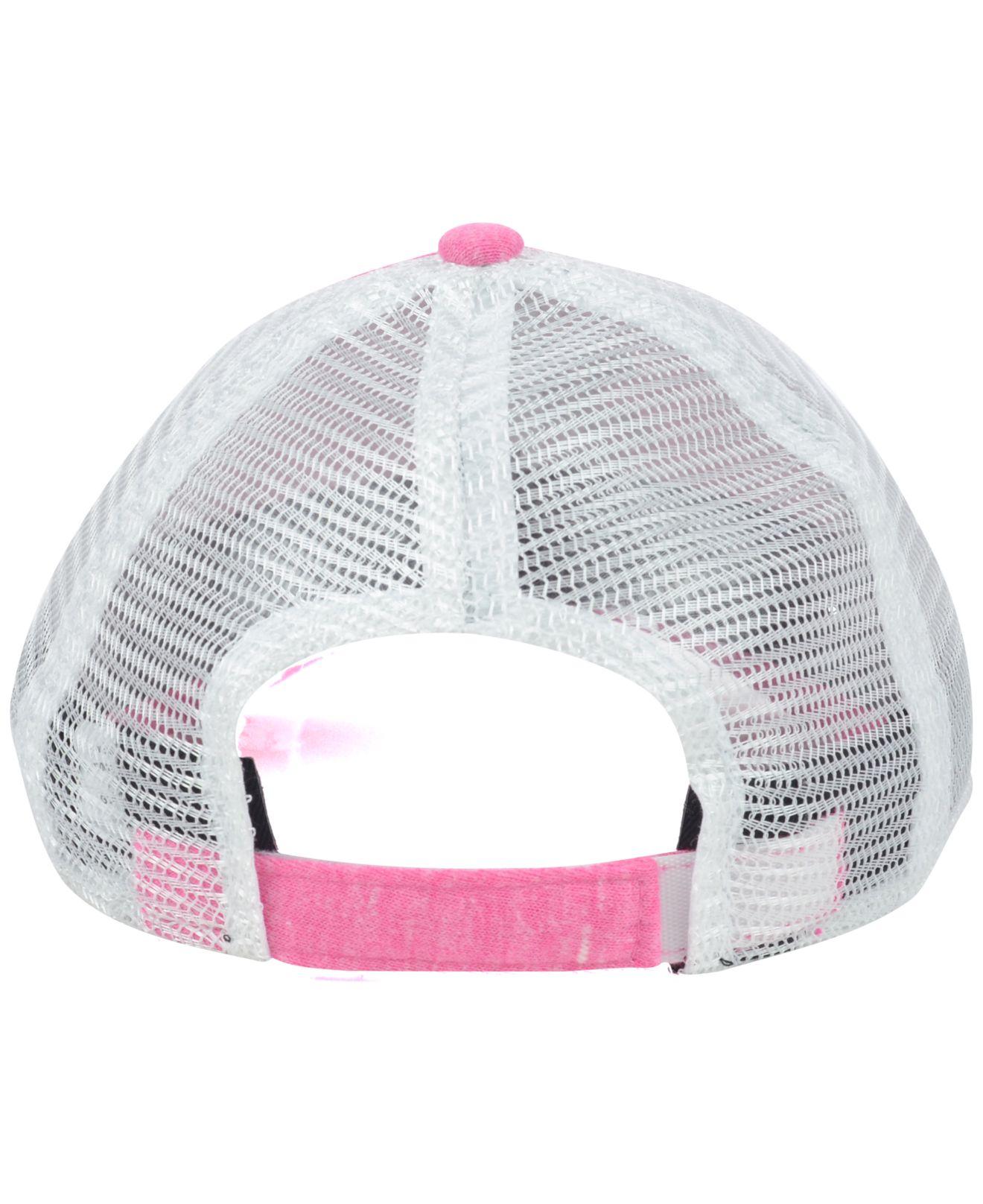buy online 9f20e 10e8d KTZ Girls  Detroit Tigers Disney Tykes Trucker 9twenty Cap in Pink ...